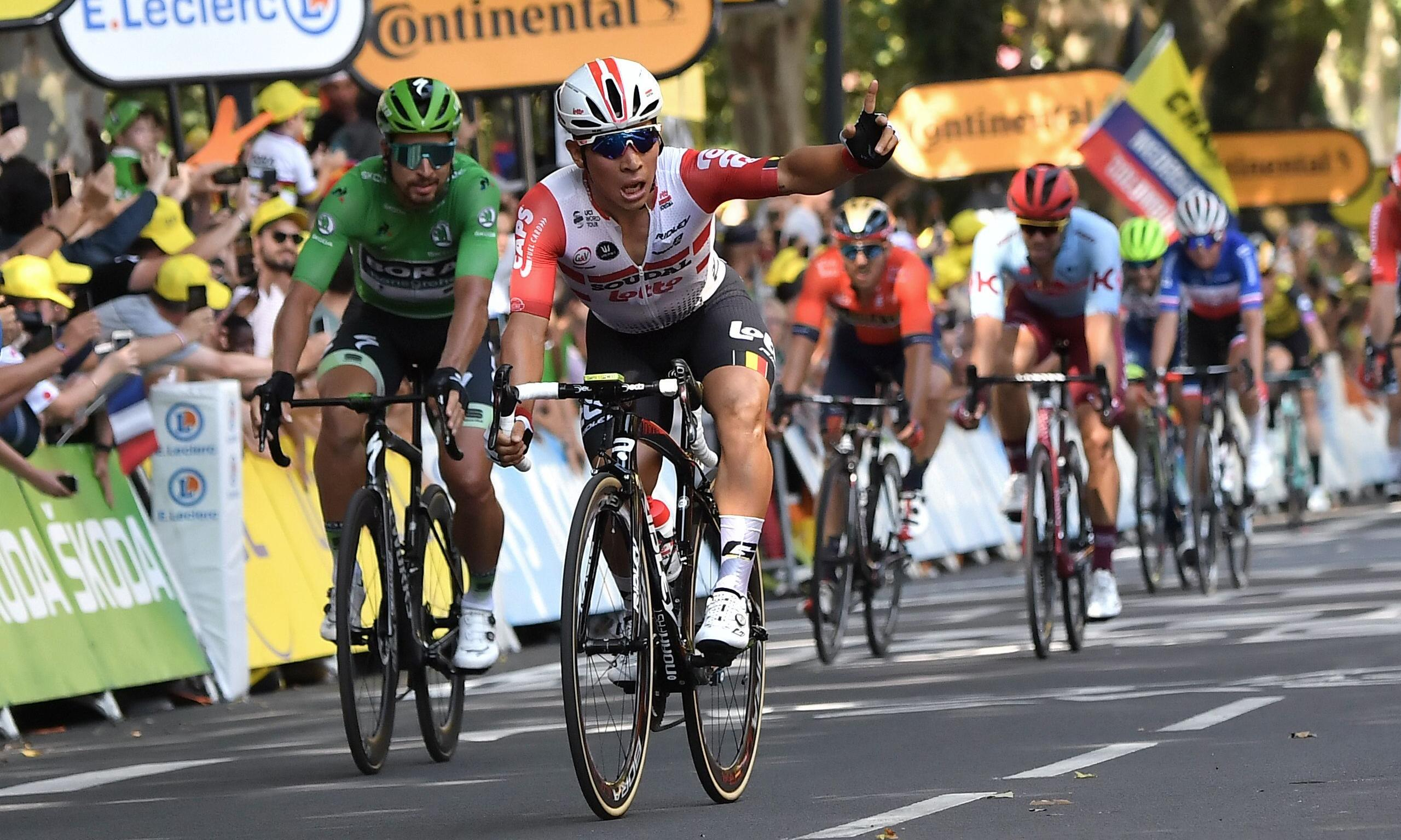 Caleb Ewan wins Tour de France stage 11 as Julian Alaphilippe stays in yellow