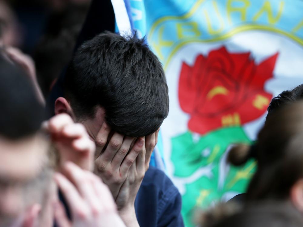 Blackburn Rovers, relegated.