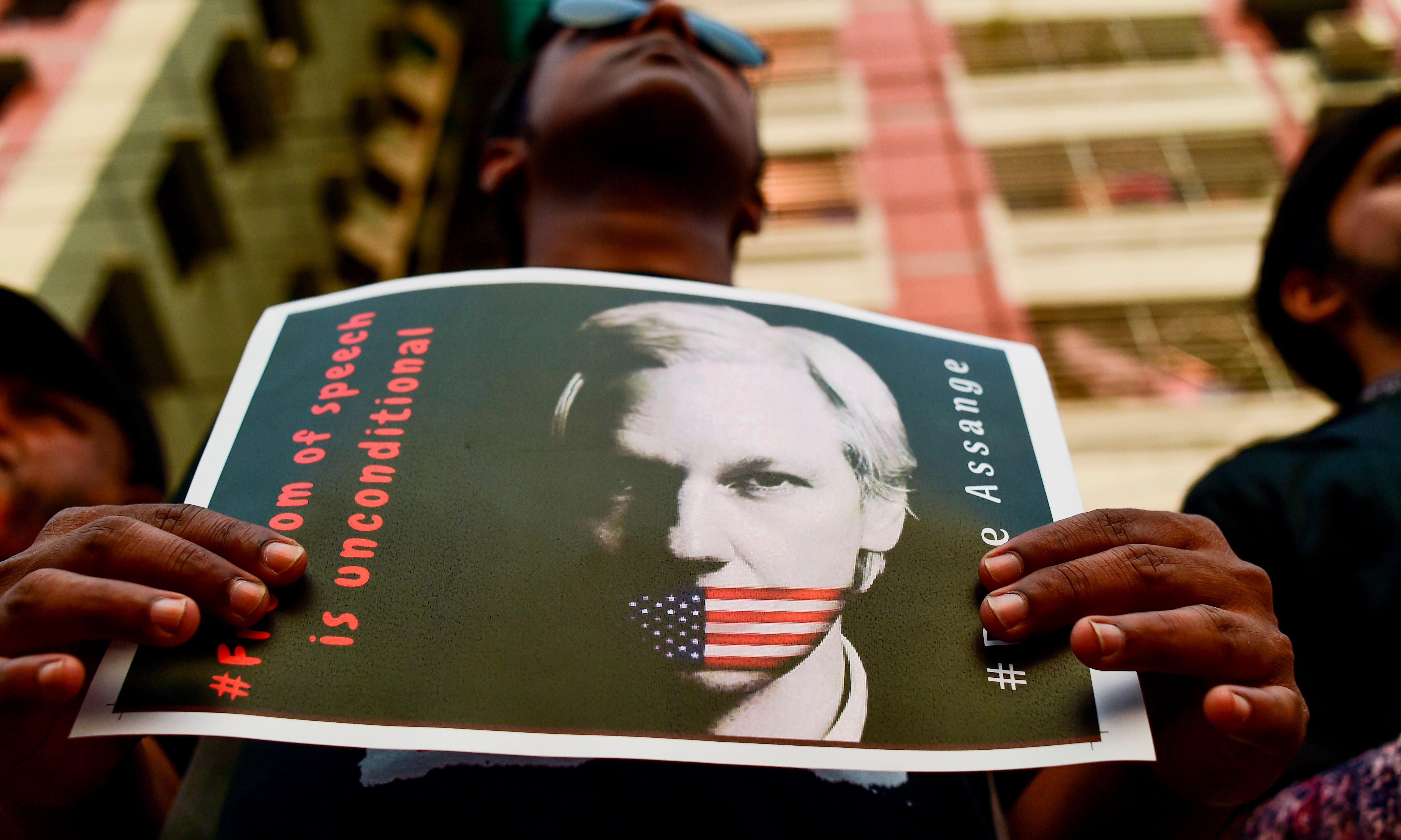 Assange's indictment escalates Trump's attacks on free speech, experts say