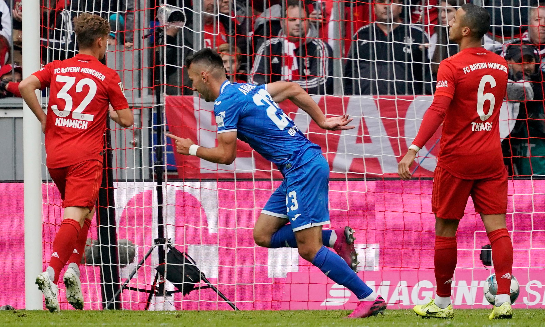 European roundup: Hoffenheim stun Bayern Munich, Reina rescues Milan