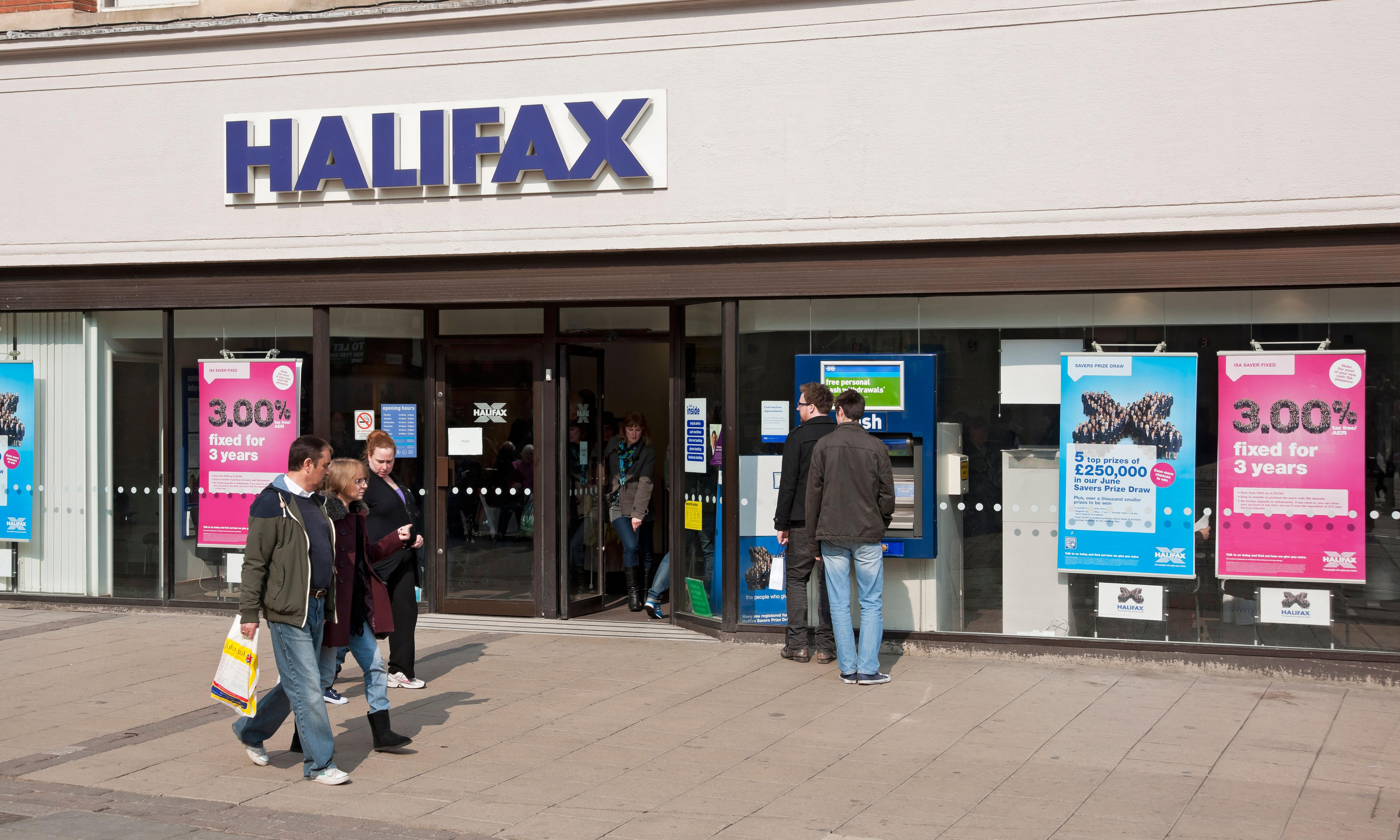 Halifax has been a pain over moving cash between my accounts