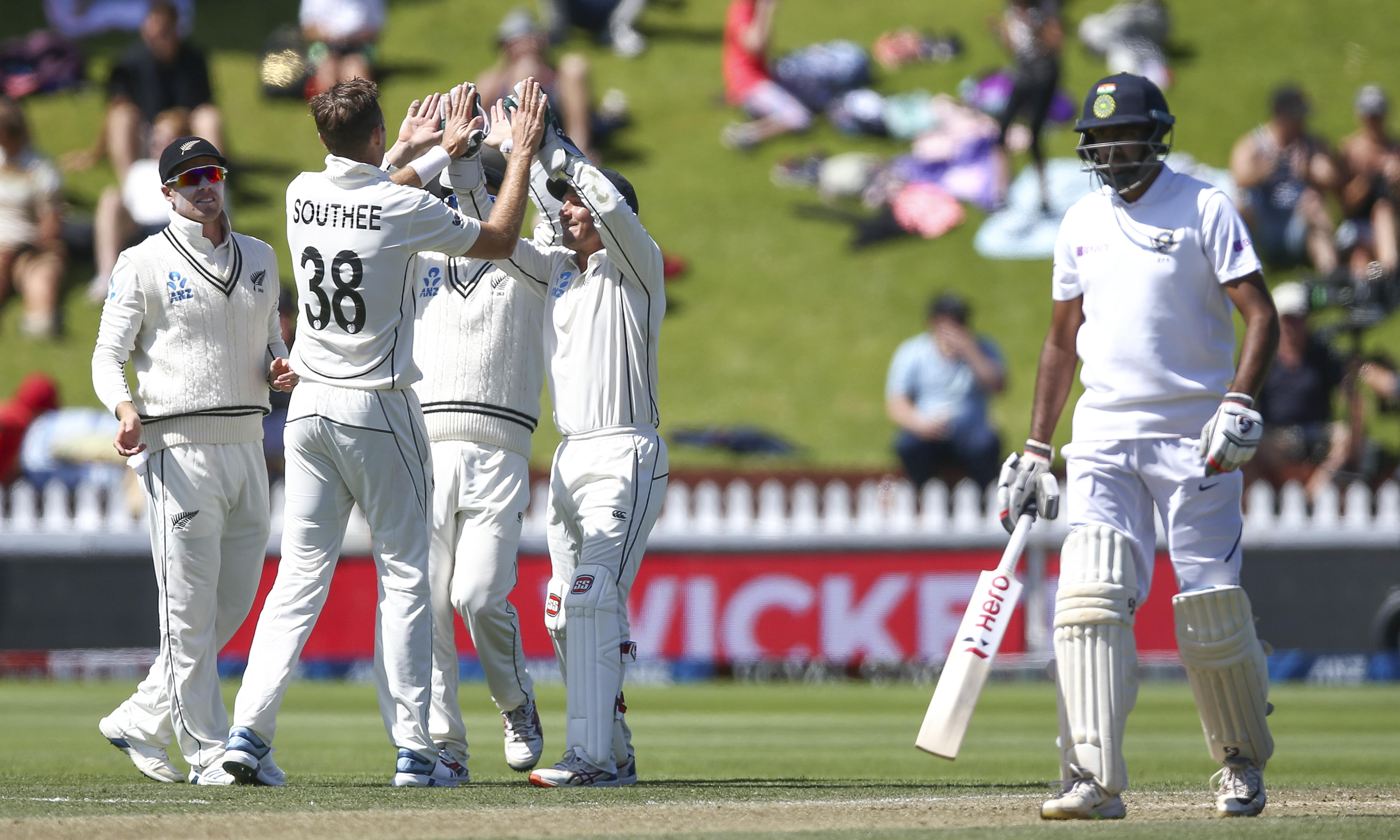 Tim Southee rips through India as New Zealand seal massive first Test win