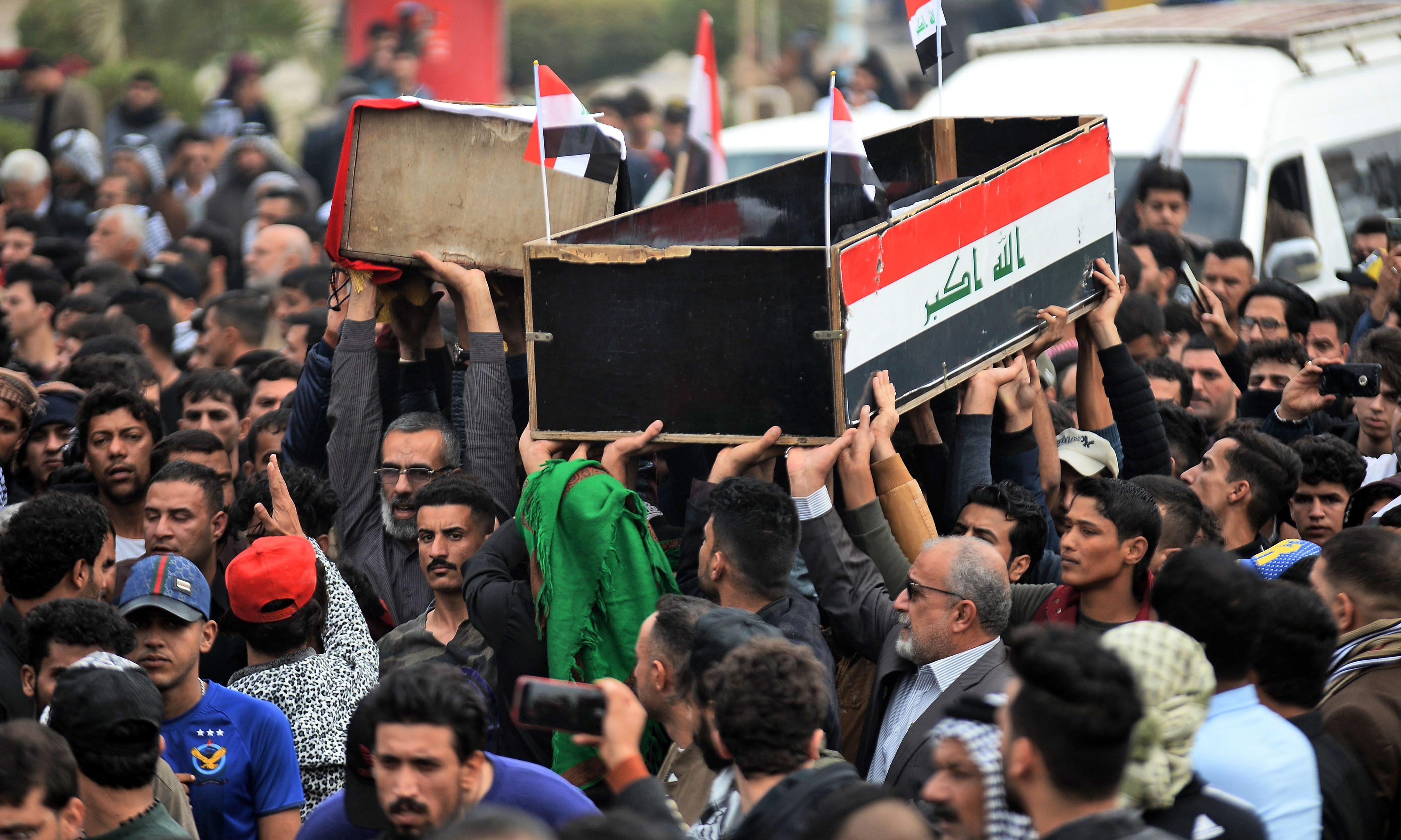 Iraqi PM says he will resign after weeks of violent protests