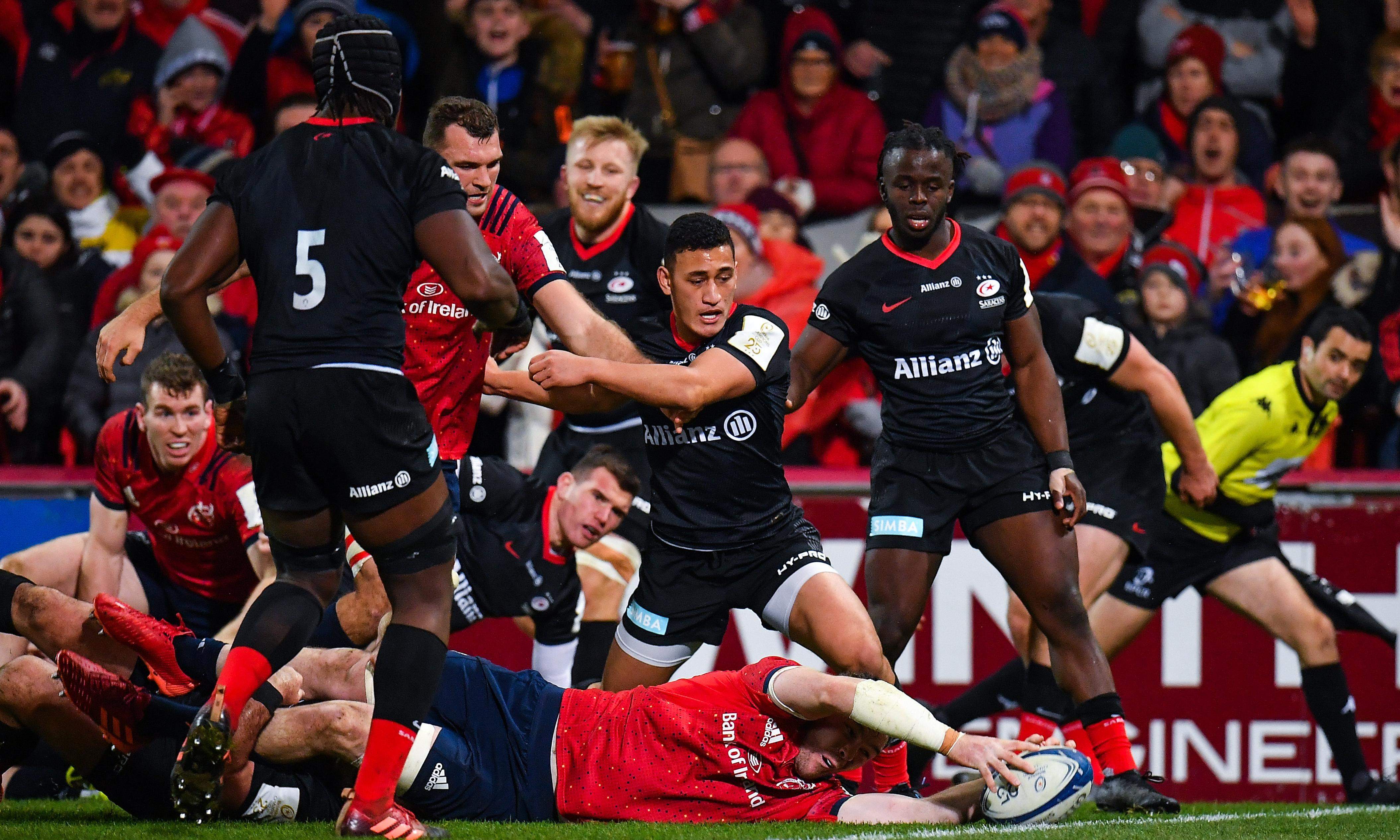 Munster pile more agony on Saracens thanks to Peter O'Mahony's try