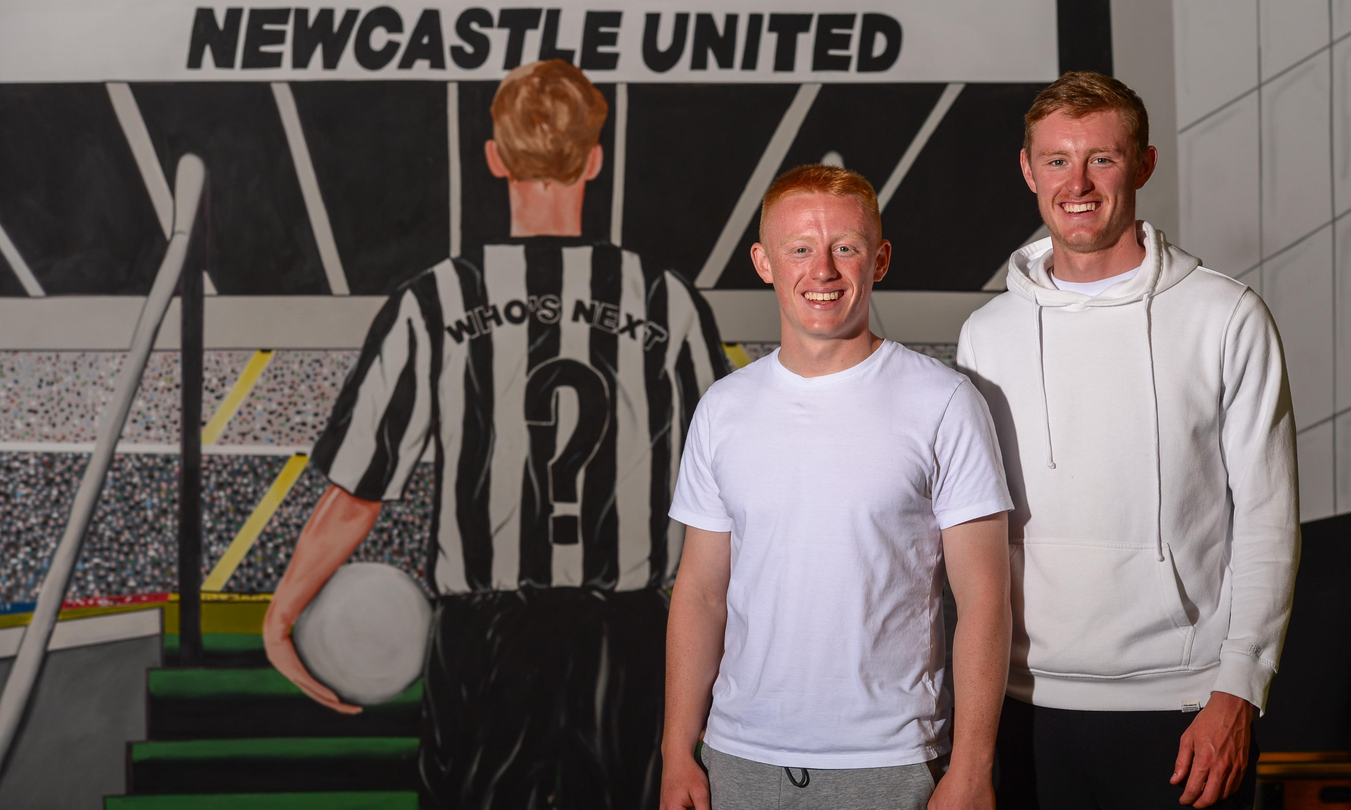 Sean and Matty Longstaff: 'Knowing your brother has got your back is special'