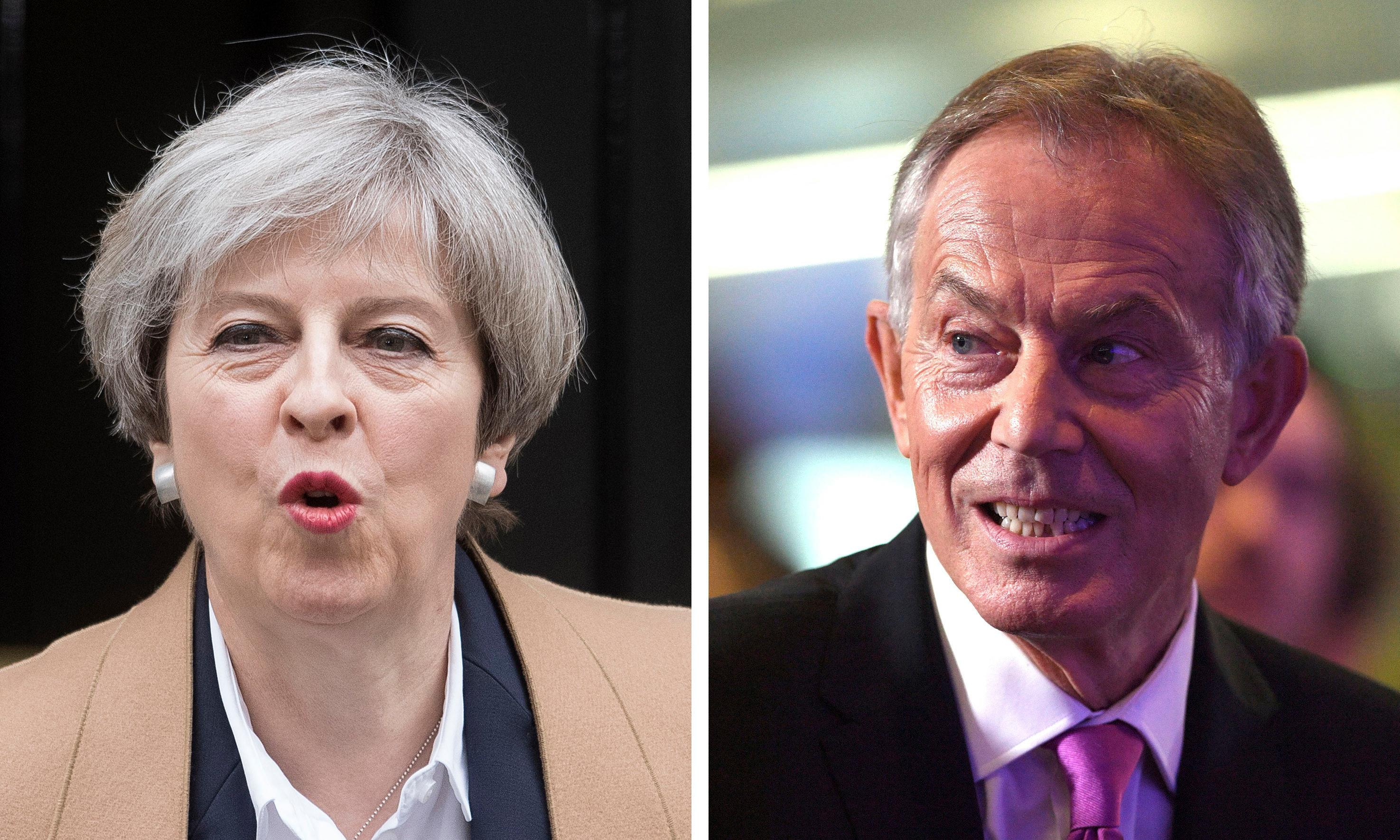 Blair claims May's deal not in national interest amid public Brexit spat