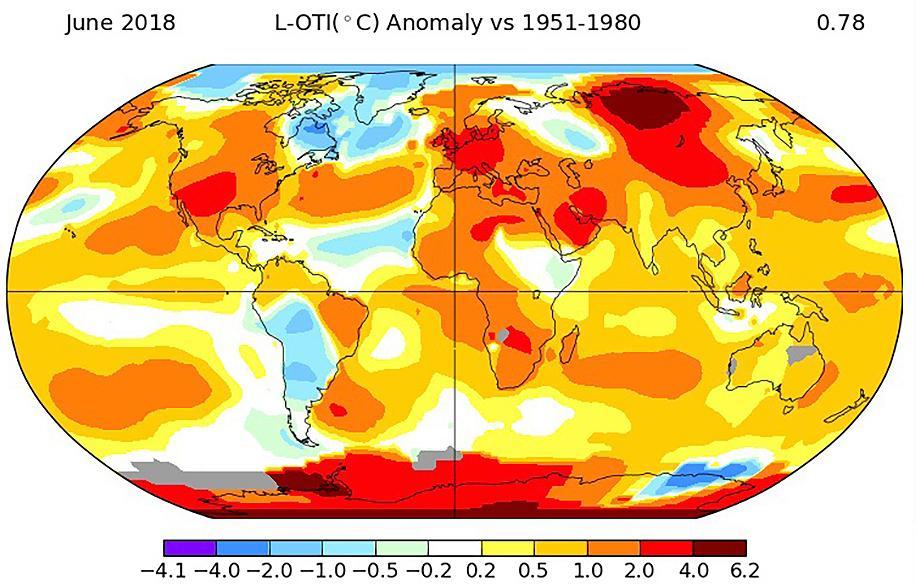 Los eventos extremos, la cara del cambio climático