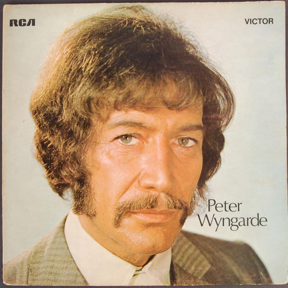 Peter Wyngarde's personal copy of his self-titled album, first released in 1970