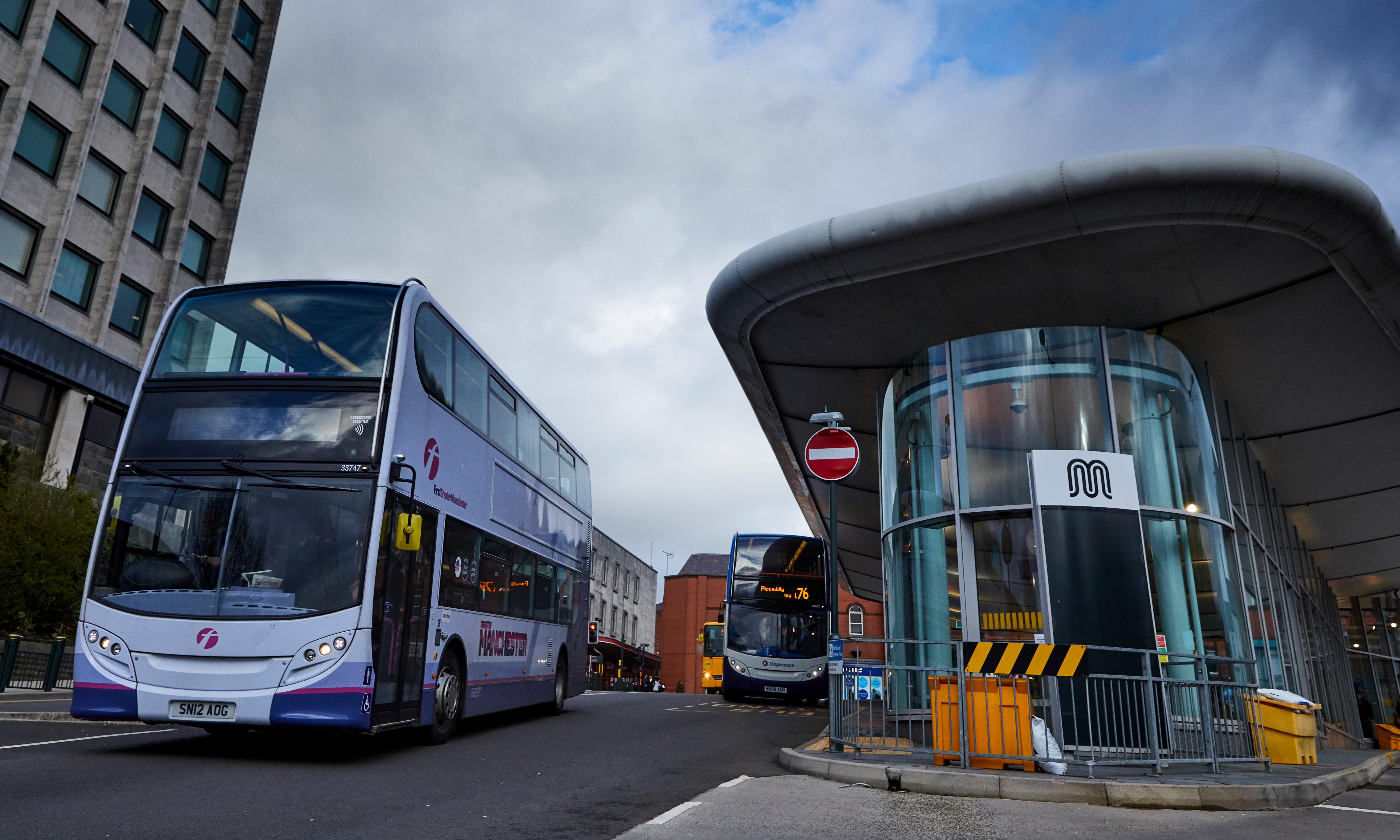 Greater Manchester considers taking back control of bus network