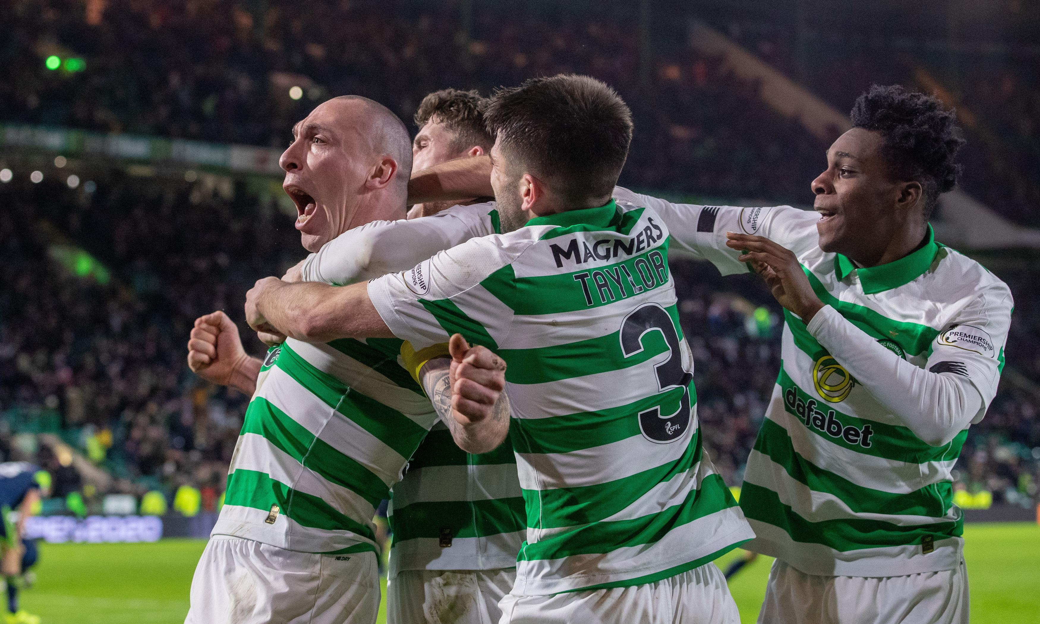 Scott Brown's late winner takes Celtic two points clear in Scottish Premiership