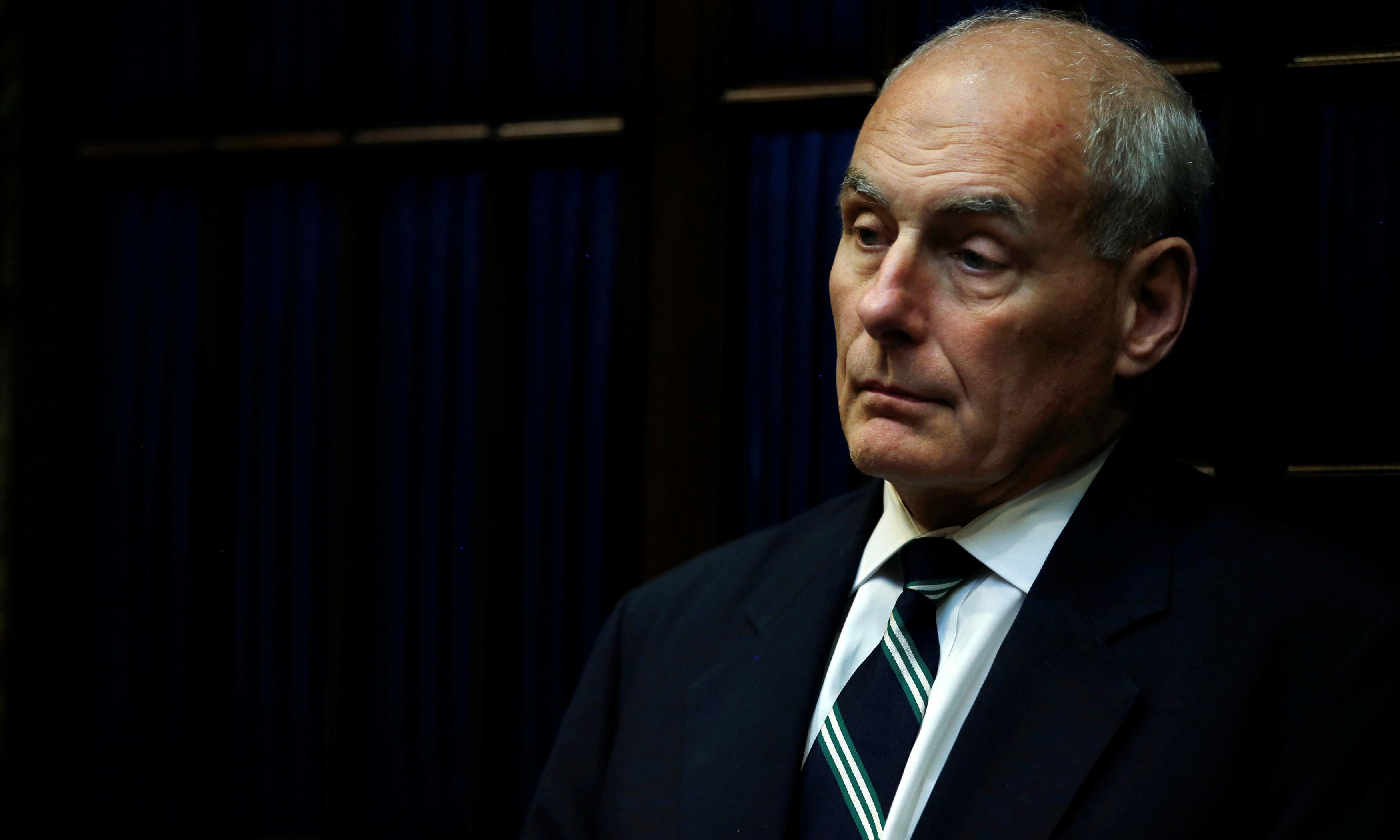 Trump hits out at former chief of staff John Kelly's warning about impeachment