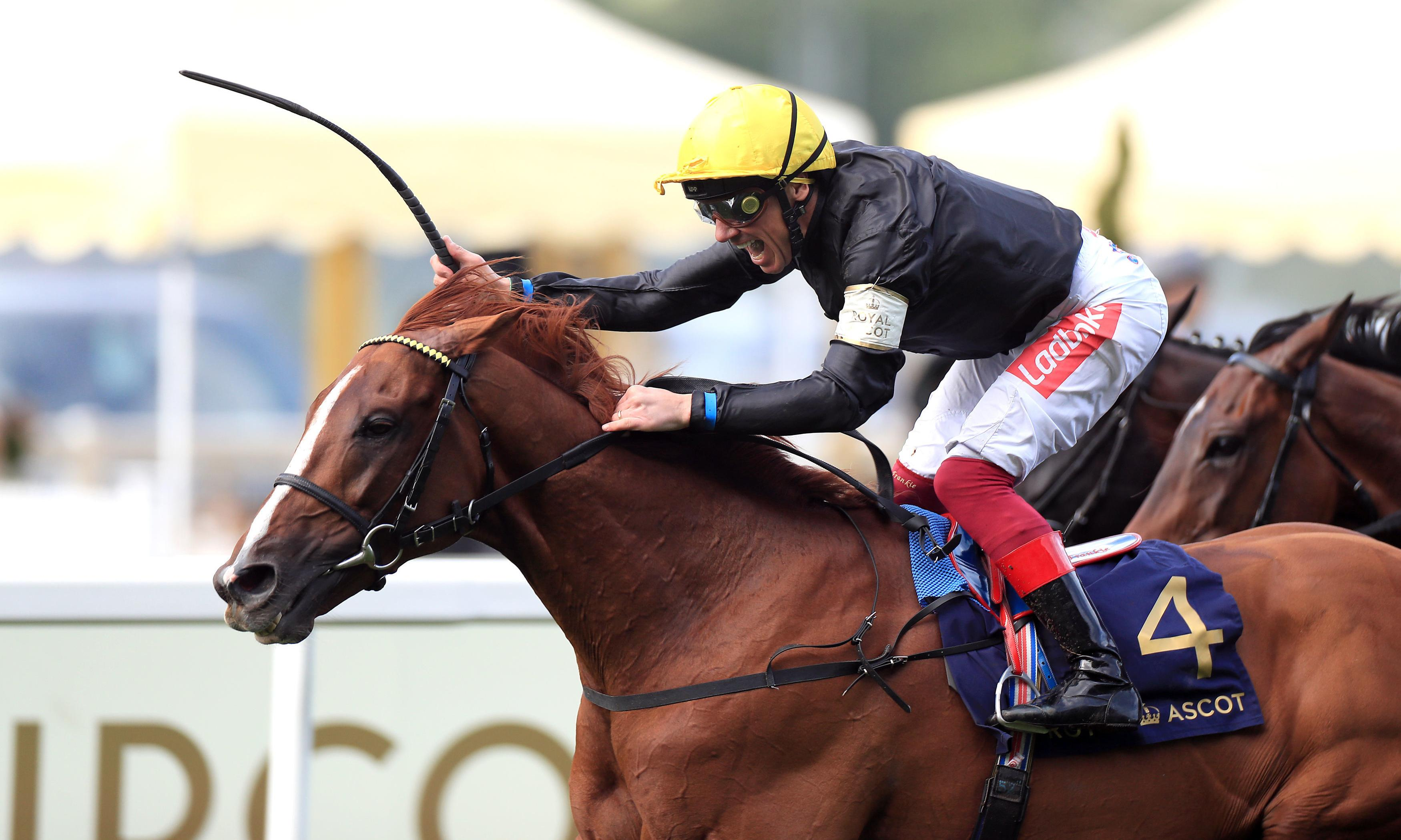 Frankie Dettori wins Gold Cup on Stradivarius for four-timer at Royal Ascot