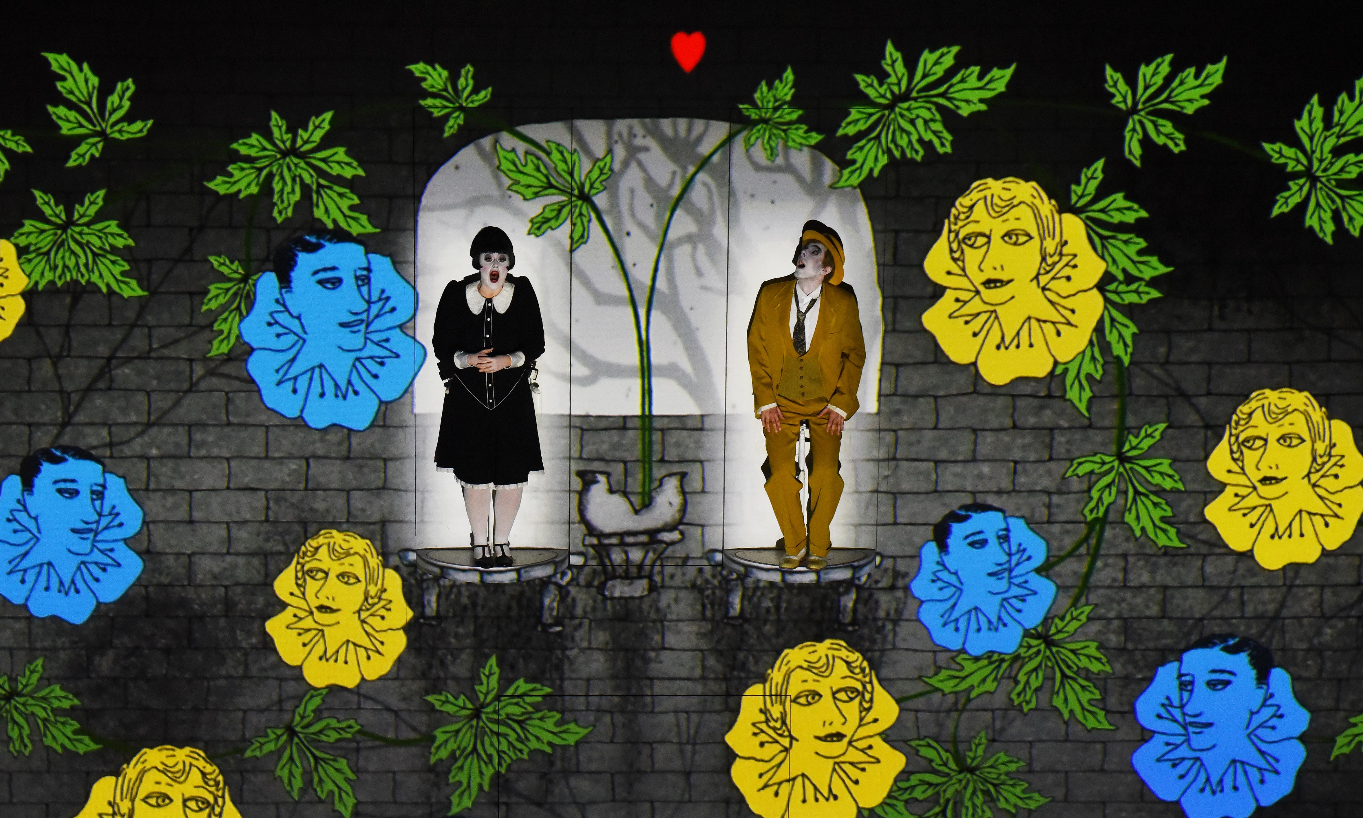 Opera, dull? Watching The Magic Flute is like drinking 10 cups of coffee