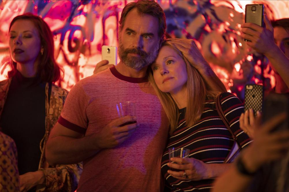 Murray Bartlett with Laura Linney in Tales of the City