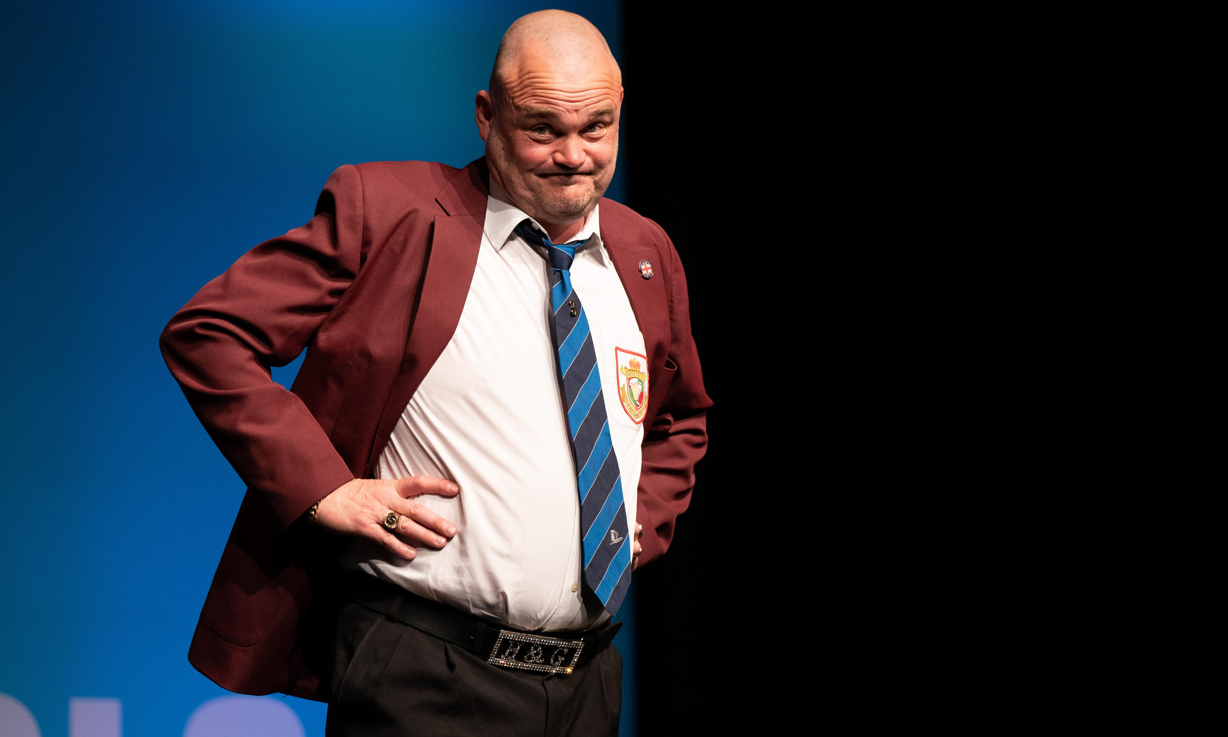 Al Murray review – the ultimate Brexiteer remains on the fence