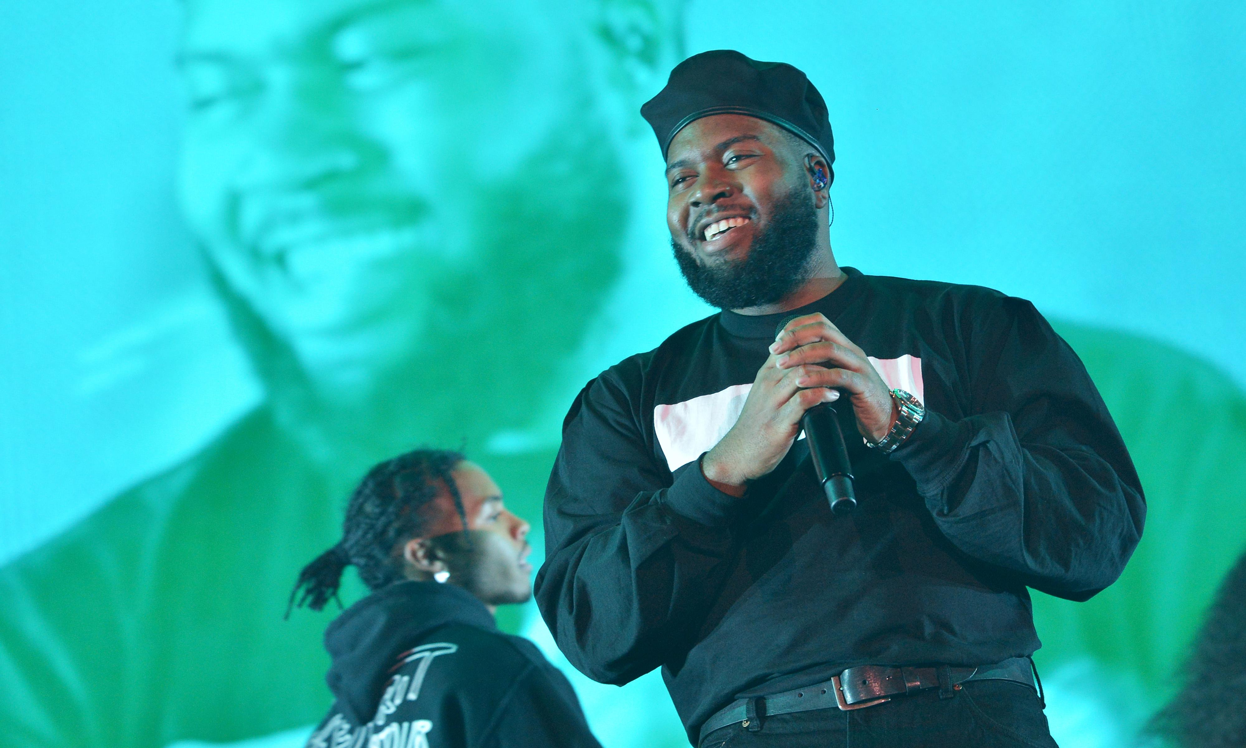 Khalid review – shallow spectacle from pop's king of background music