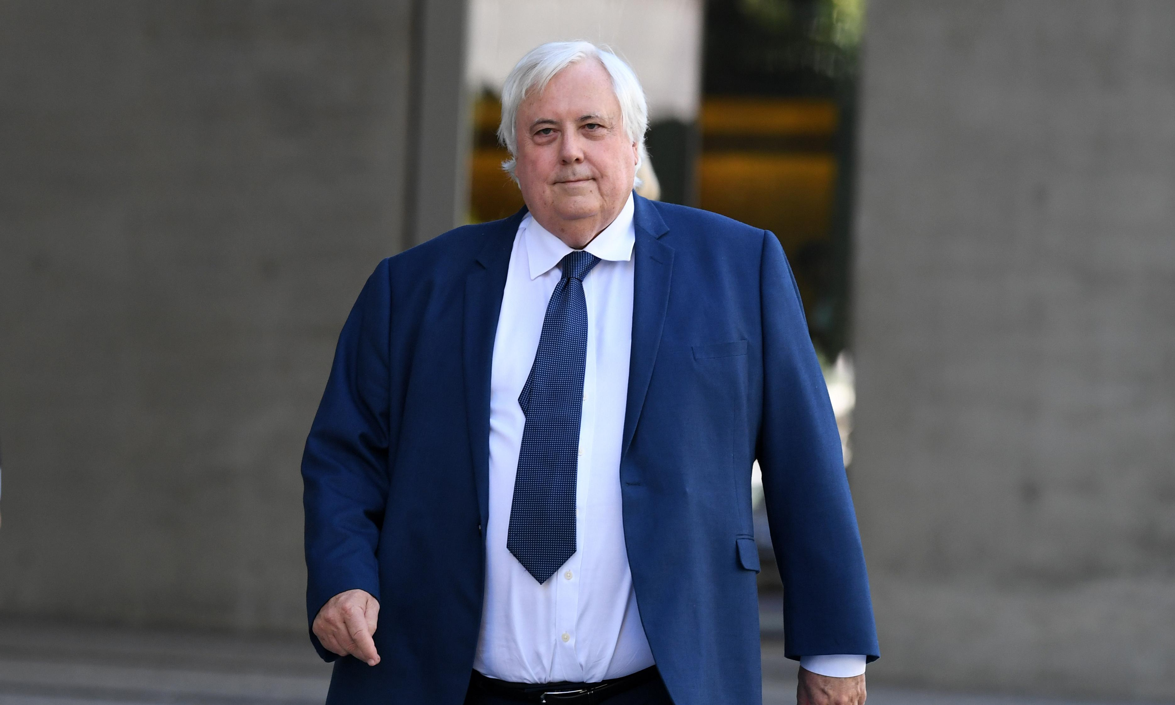 Clive Palmer $60m election spend shows need for cap, advocates say