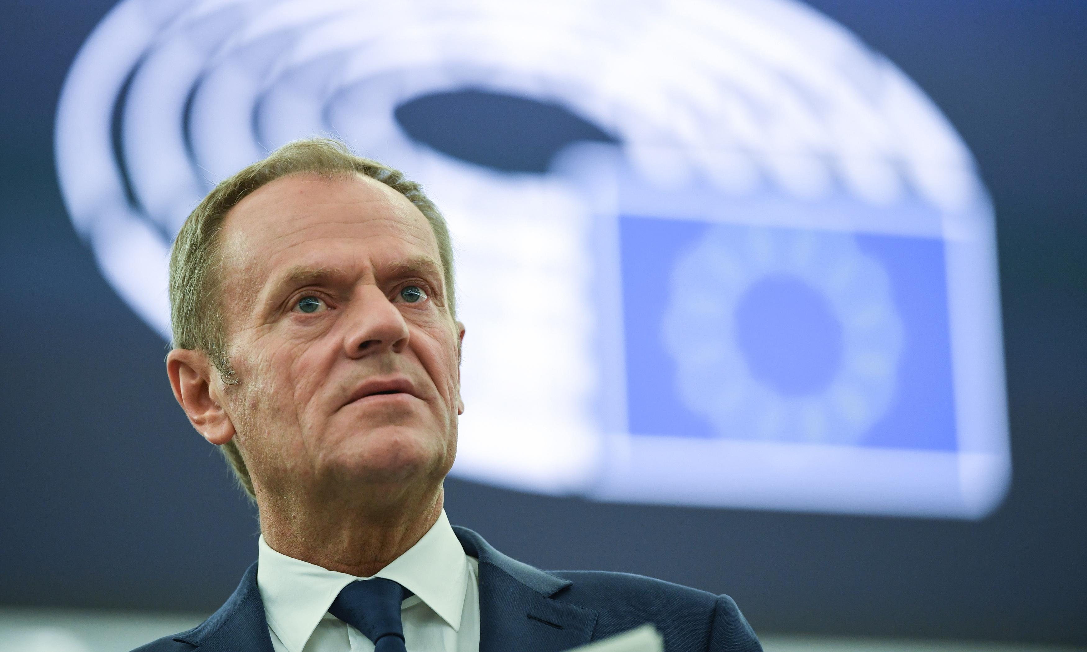 Donald Tusk's message to UK voters: don't give up on stopping Brexit