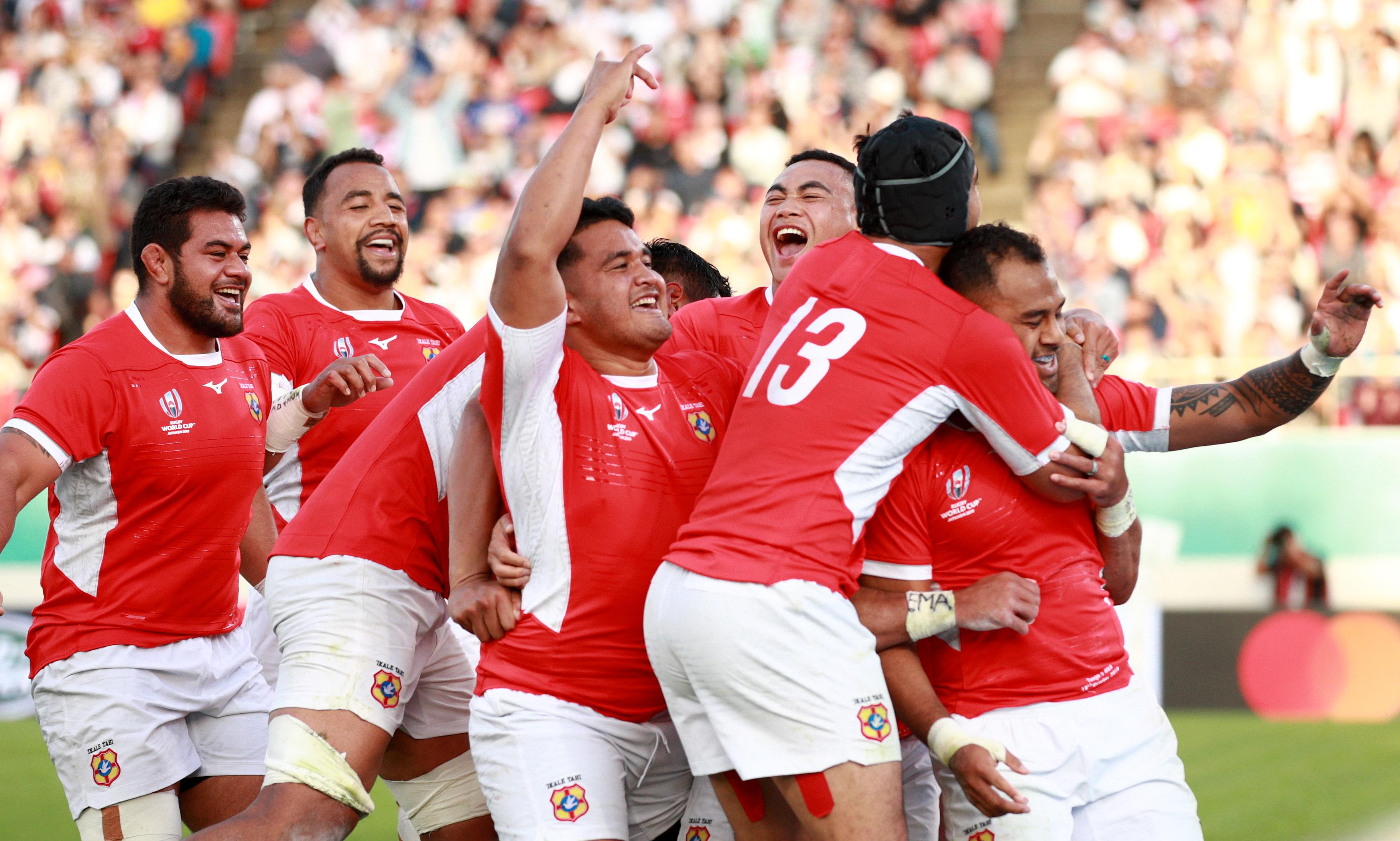 Tonga score try with last play to leave USA pointless at Rugby World Cup