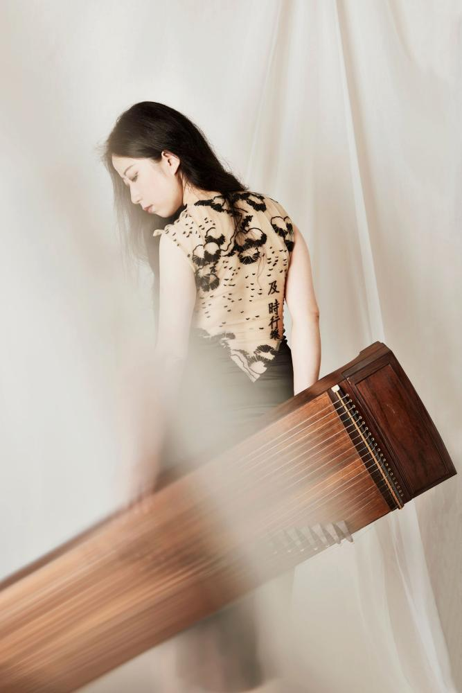 Guzheng artist and Chinese born Melbourne based musician Mindy Meng Wang.