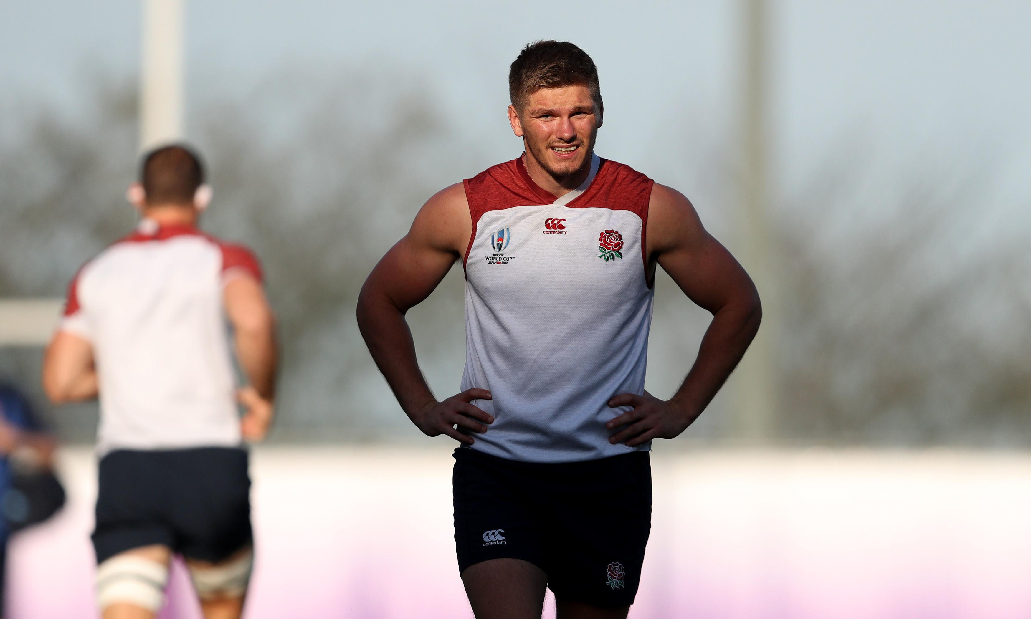 England drop George Ford with Owen Farrell at fly-half for Australia clash