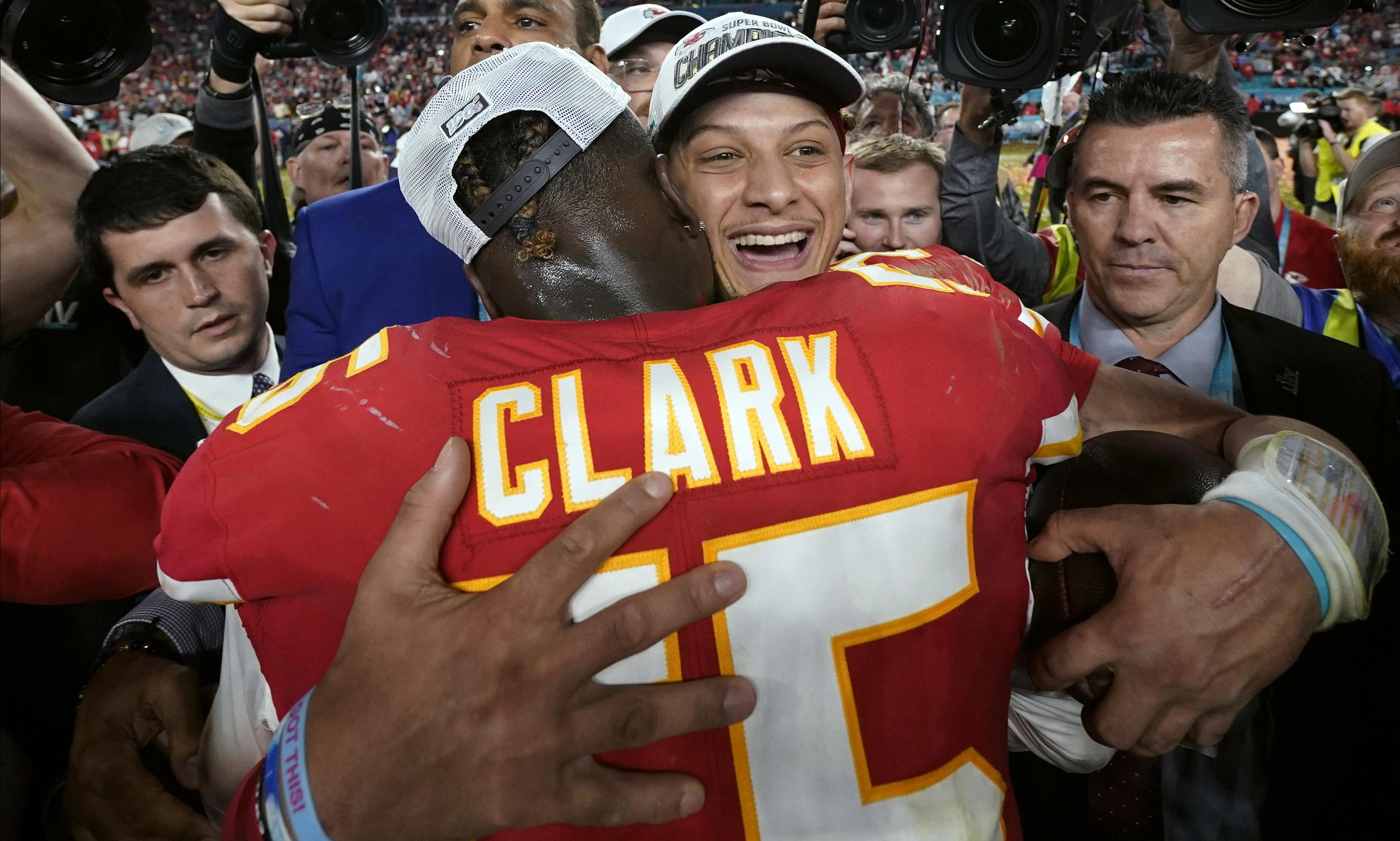 Kansas City Chiefs race past 49ers in final reel for first Super Bowl since 1970