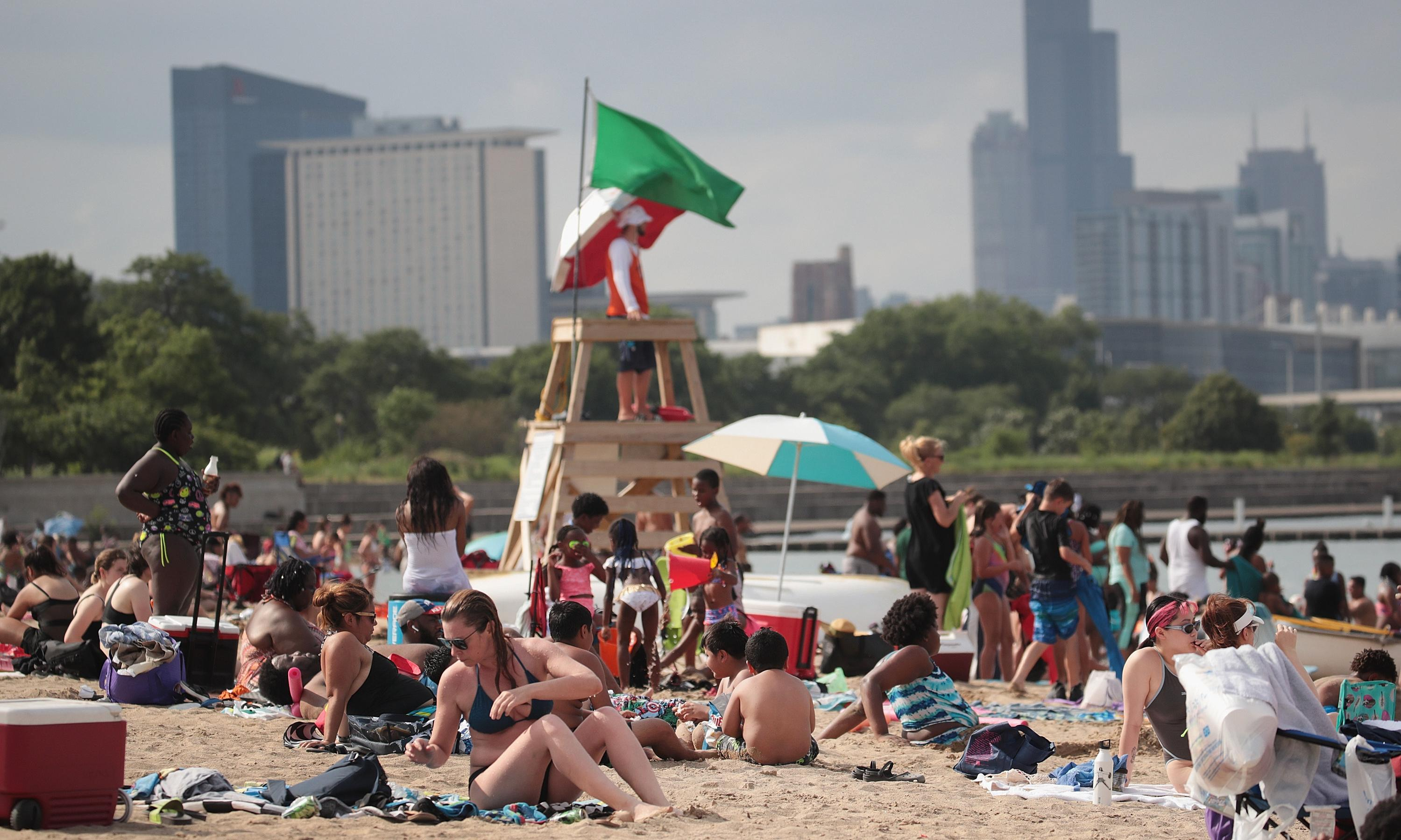 Fecal bacteria found at more than half of US beaches last year, report says
