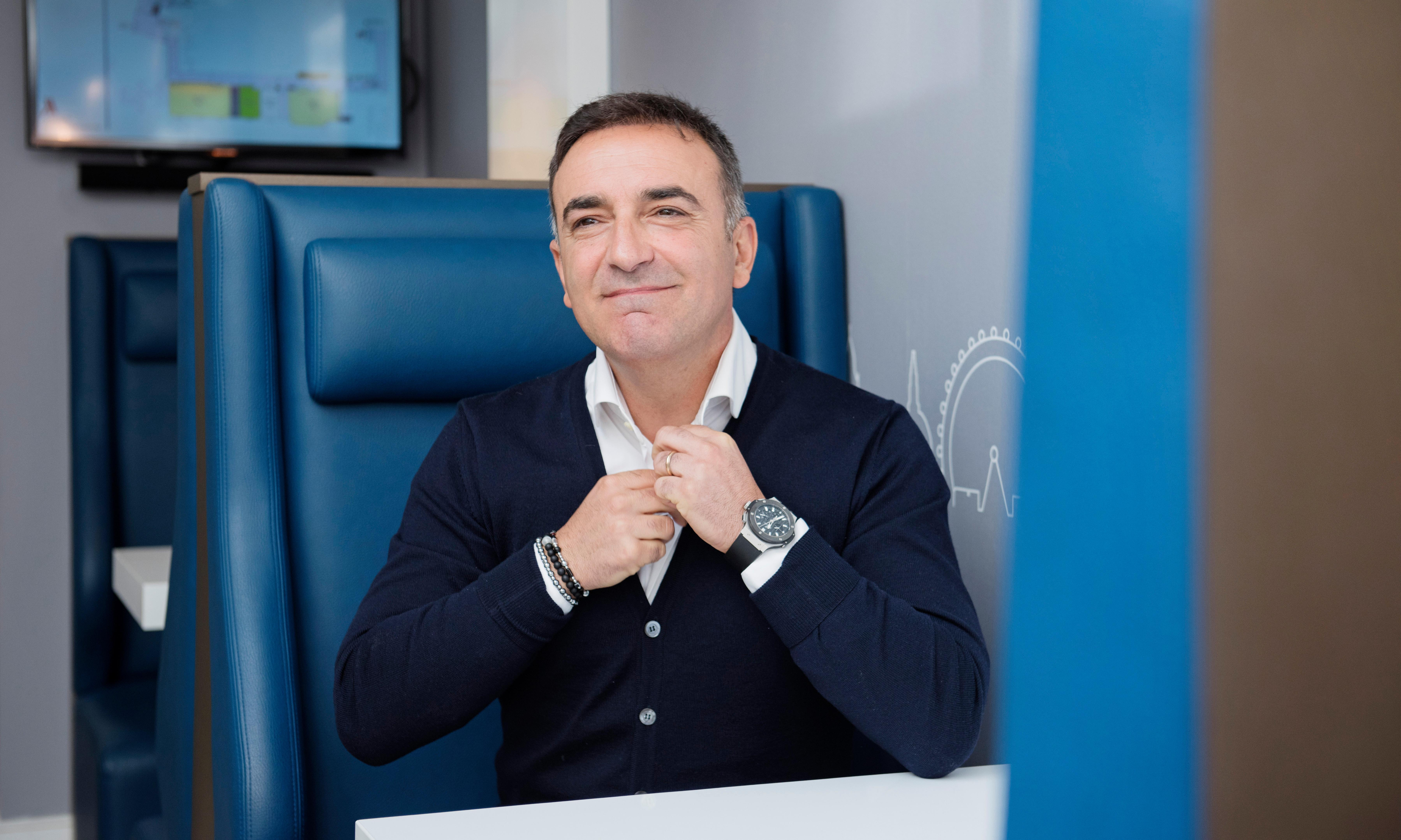 Carlos Carvalhal: 'I was surrounded by classical music, art and ballet'