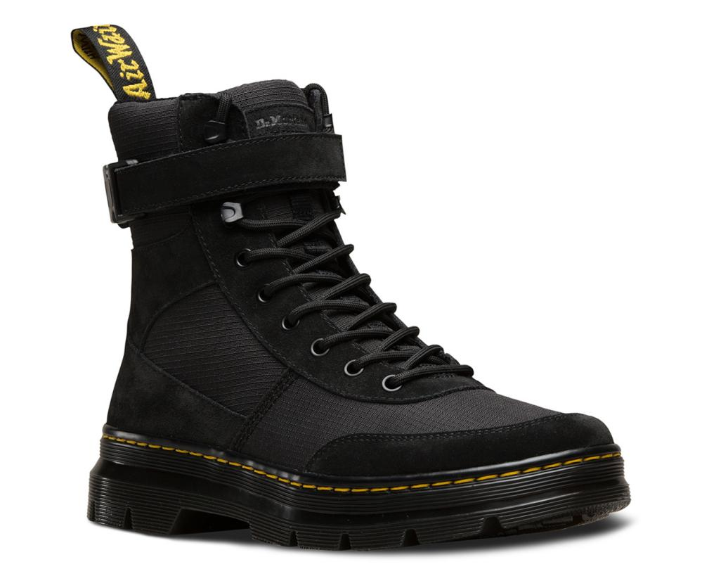 Black combs tech boots, Dr Martens, £90.