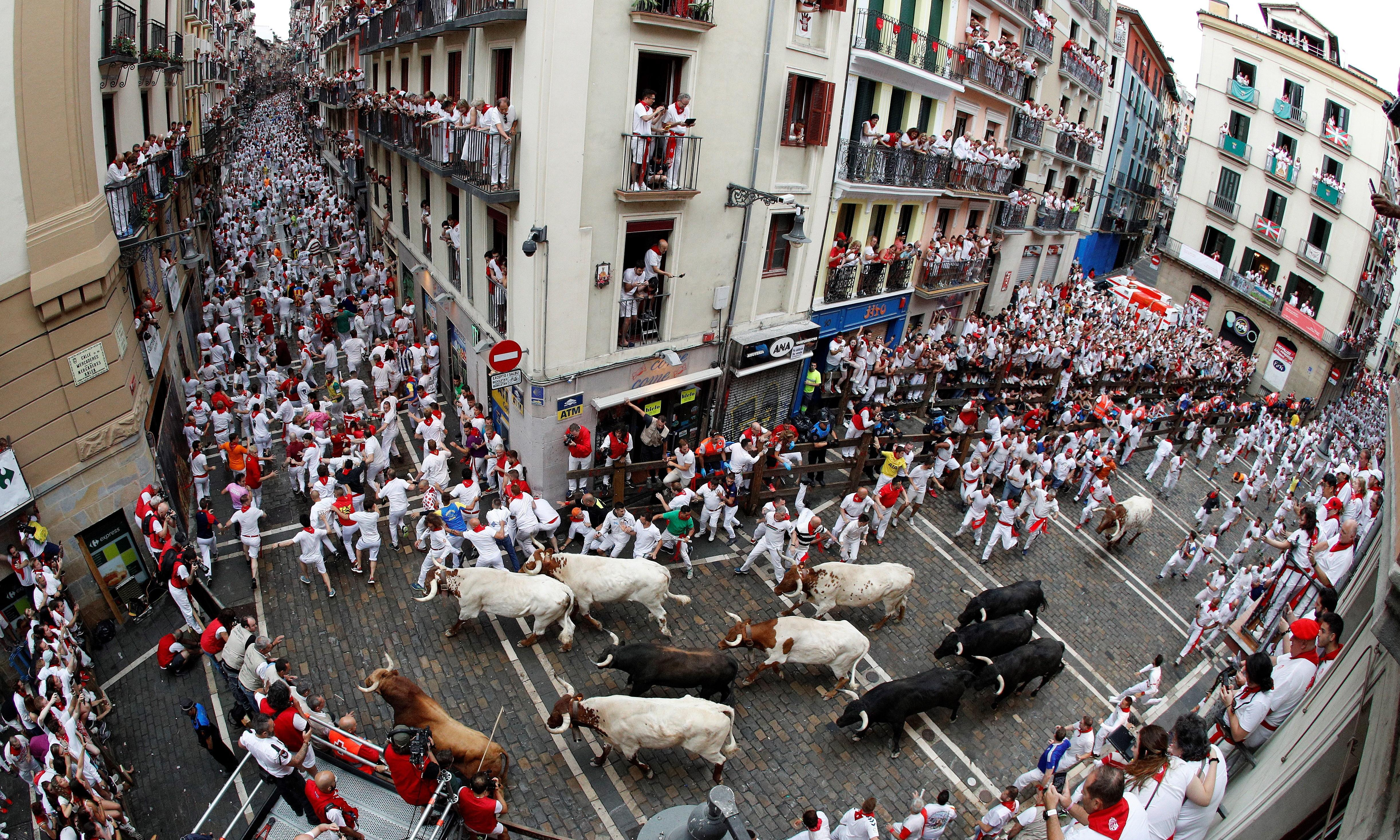Man gored at bull run in Spain becomes second fatality in two weeks