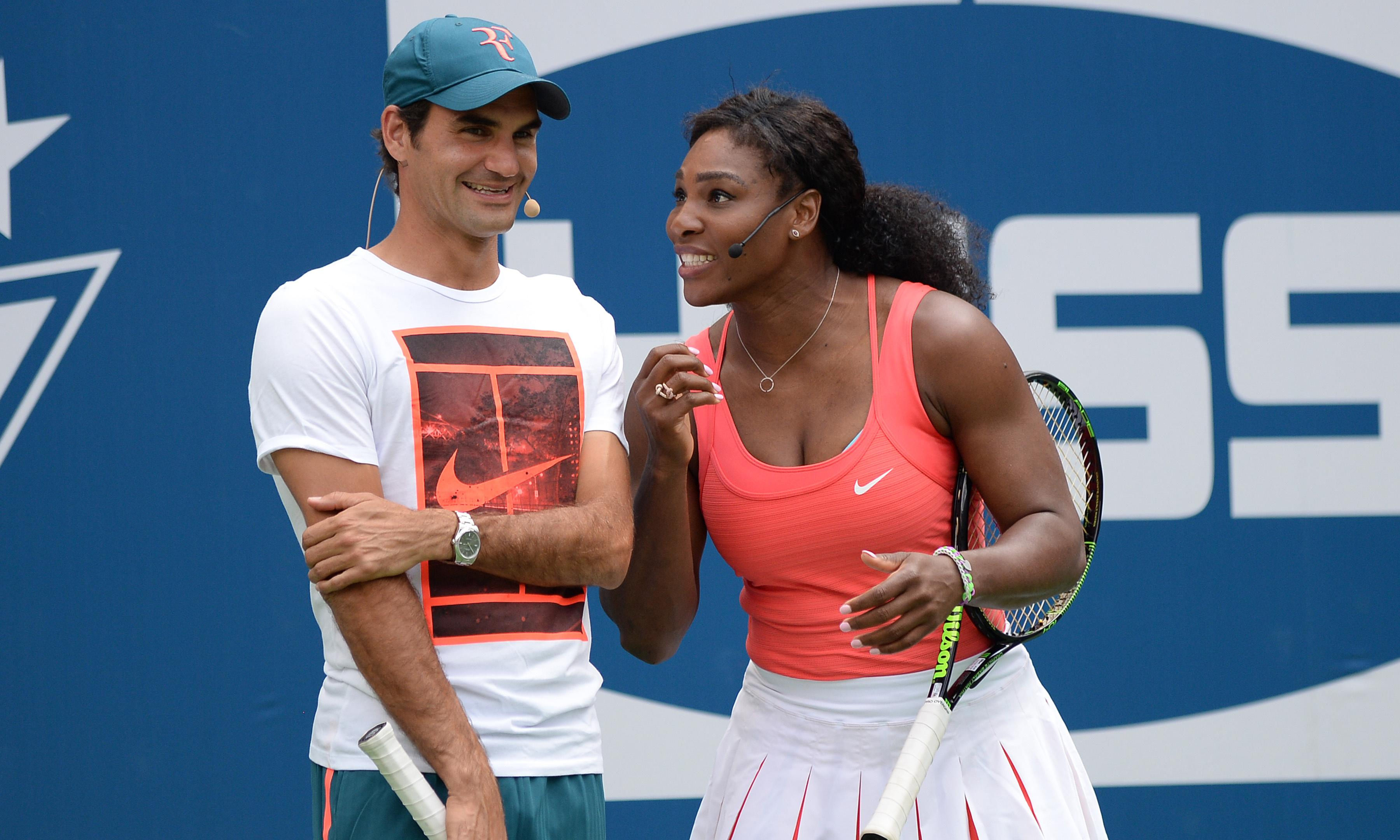 Serena Williams and Roger Federer to play each other for first time