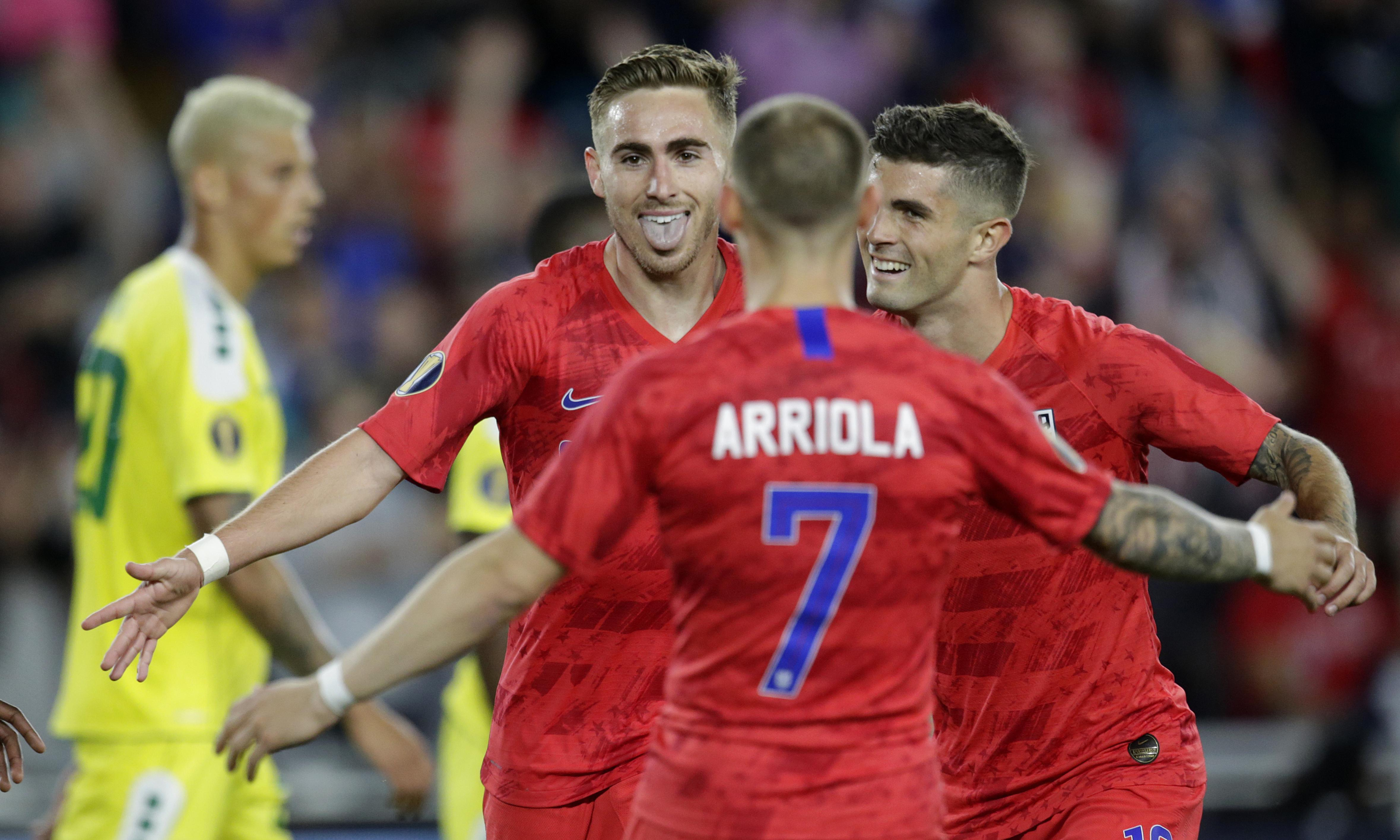 Newcomer Tyler Boyd's brace powers US past Guyana in Gold Cup opener