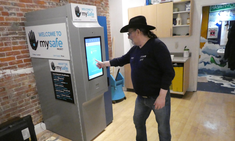Opioid vending machine opens in Vancouver