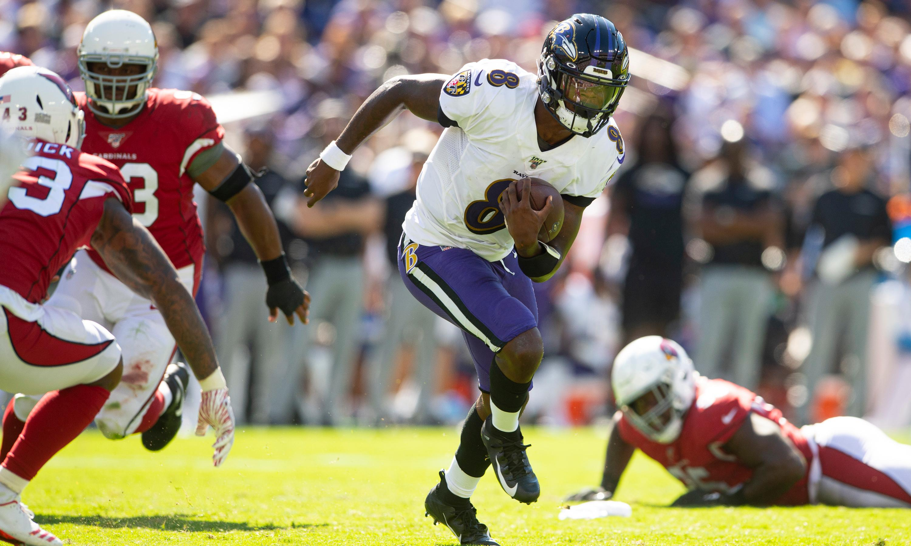 Lamar Jackson: from a running back disguised as a QB to potential MVP
