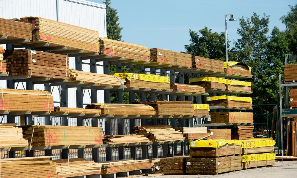 Some builders are reporting difficulties in getting supplies. The price of timber, for examples, has surged.