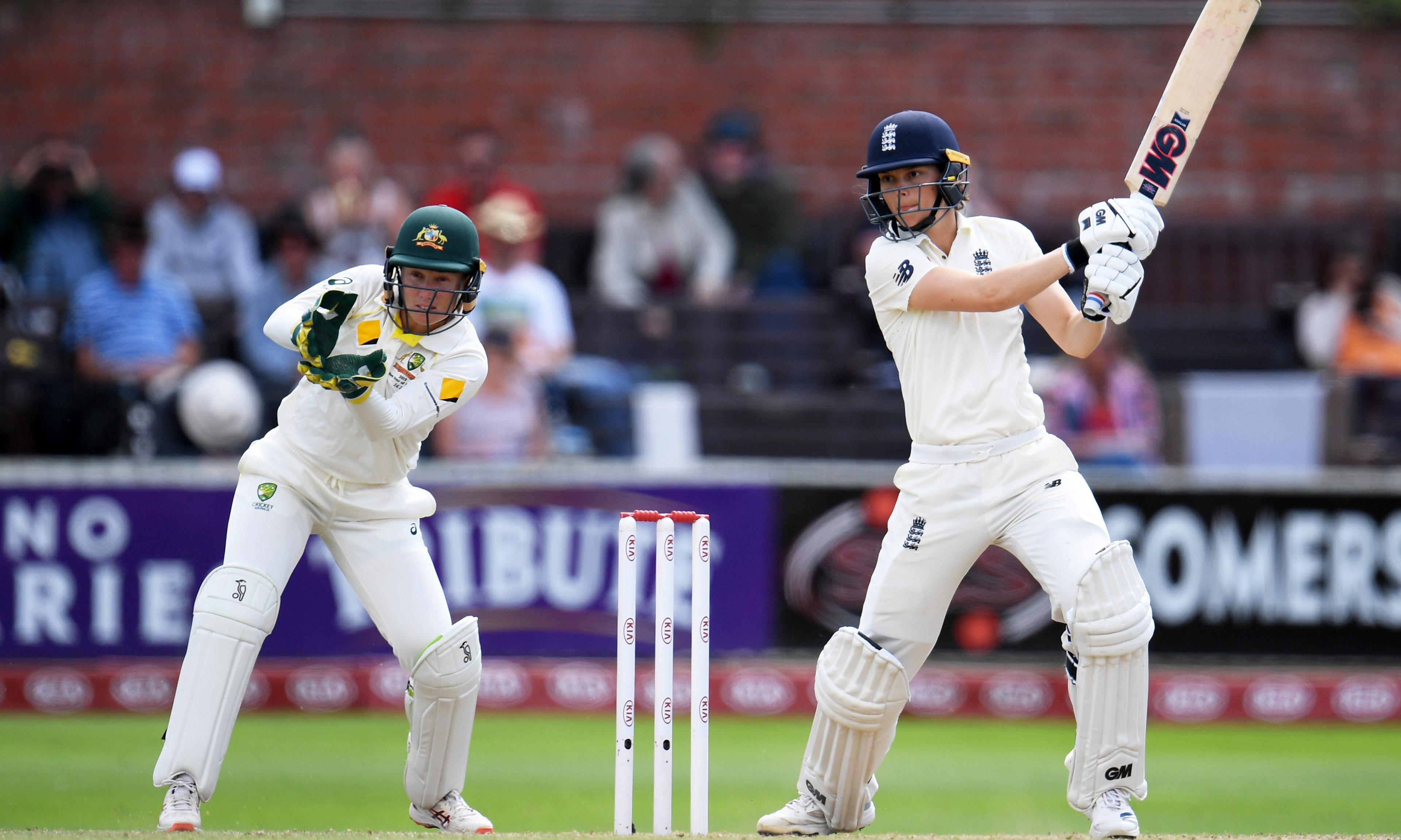 Women's Ashes: Australia and Sophie Molineux turn the screw on England