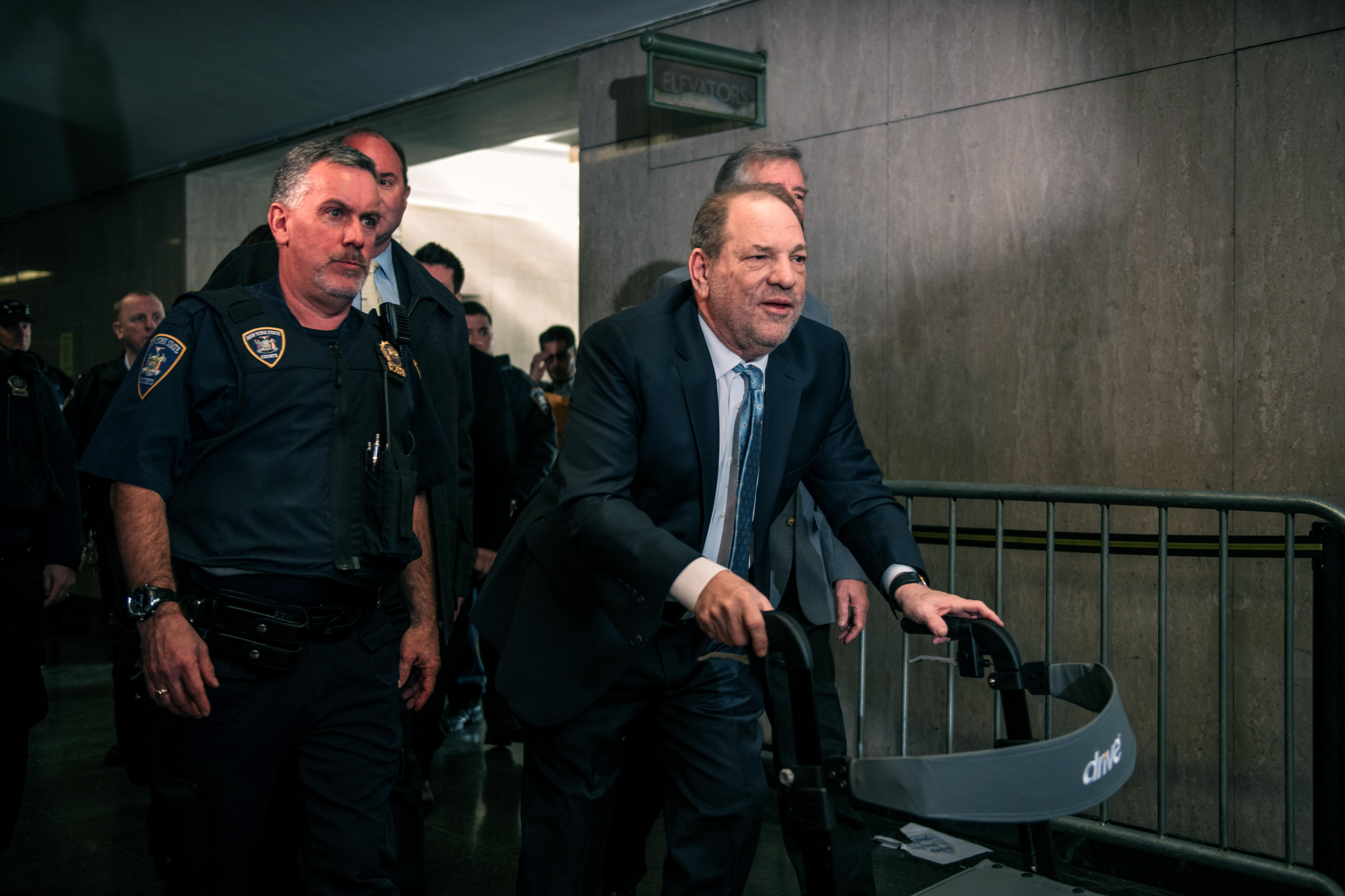 Harvey Weinstein found guilty of rape at New York trial