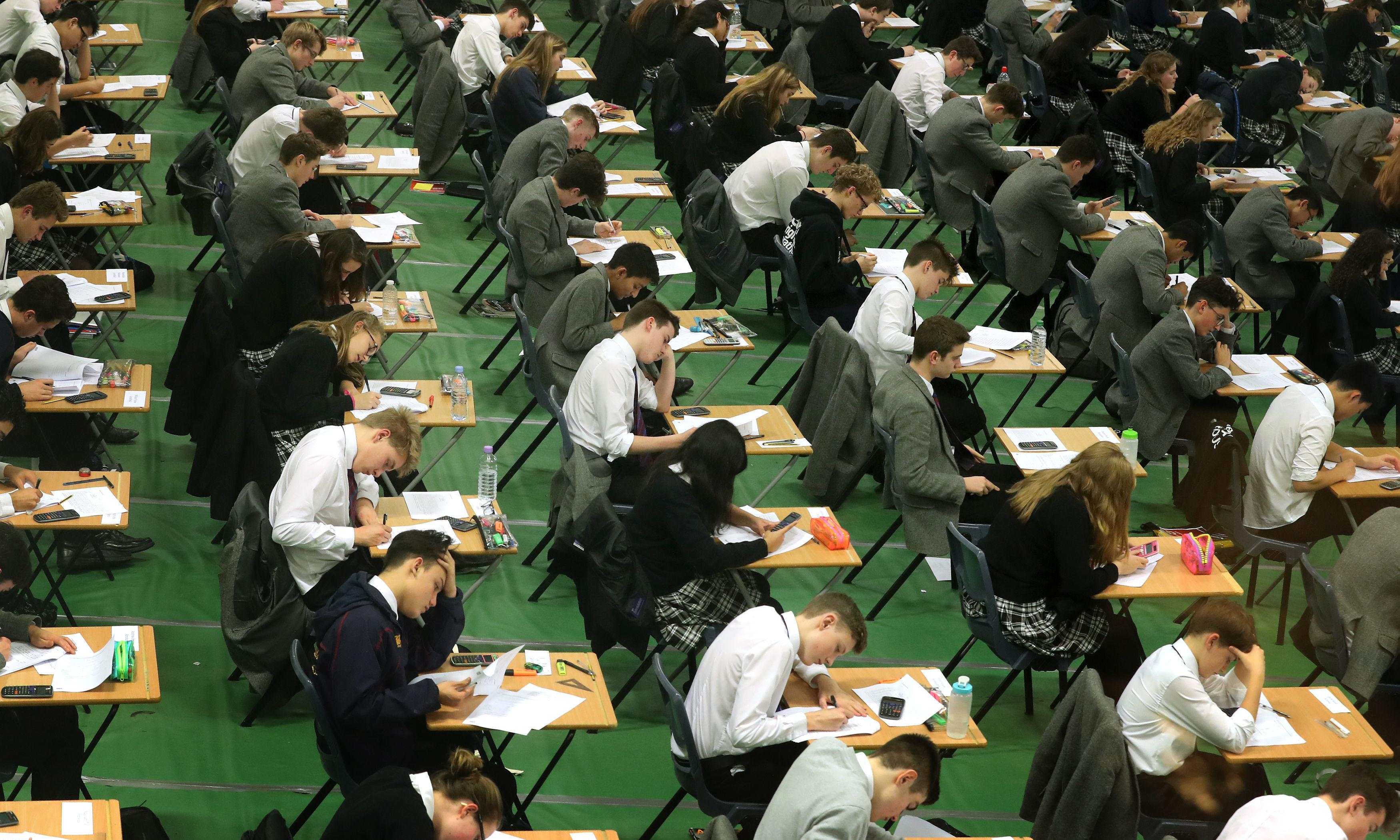 Two arrested in A-level exam leak investigation