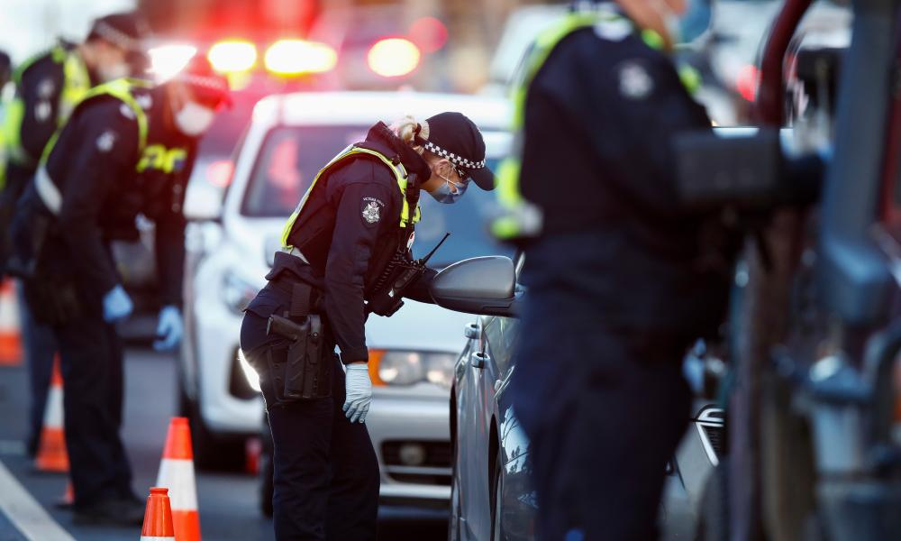 Some Victoria suburbs have been placed under temporary lockdown, following a spike in infection.