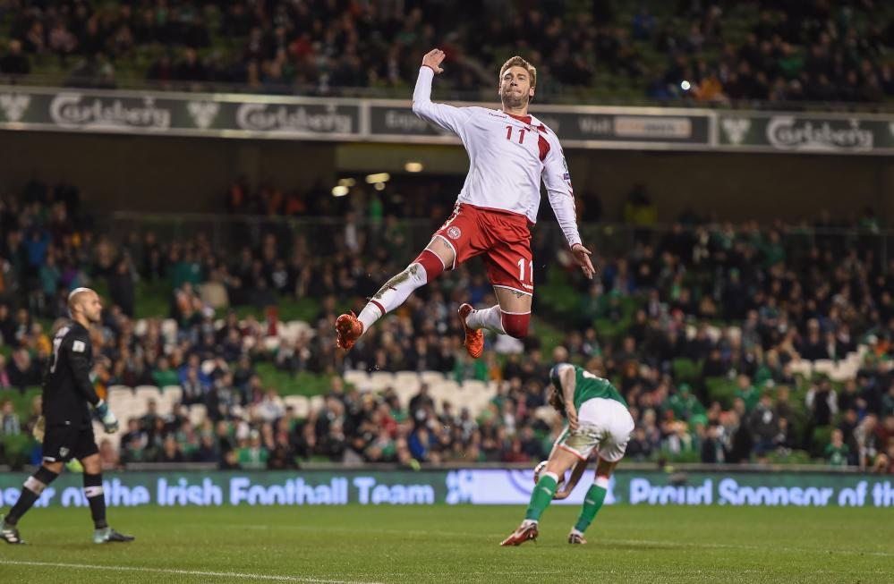 Nicklas Bendtner completes the rout.