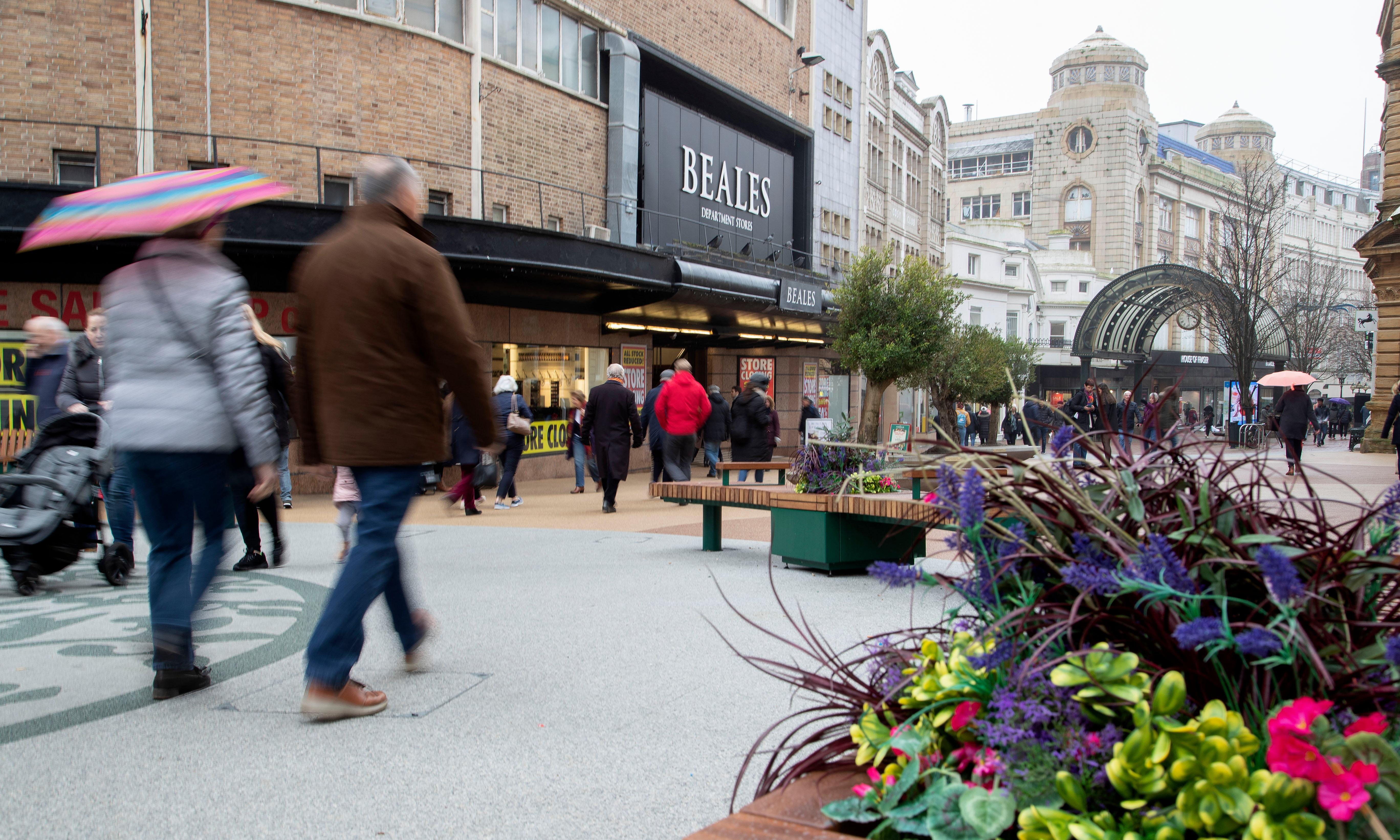 'Beales is part of our history': shoppers on landmark store's woes