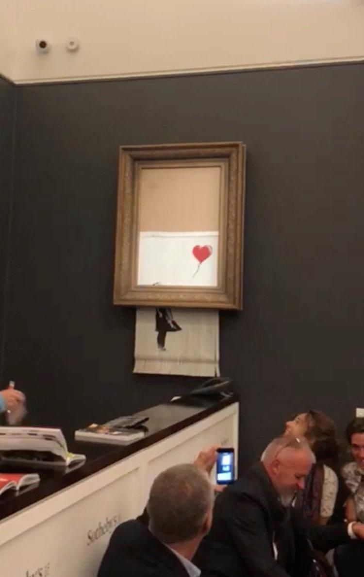 Why putting £1m through the shredder is Banksy's greatest work