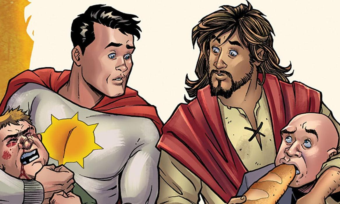 DC cancels comic where Jesus learns from superhero after outcry