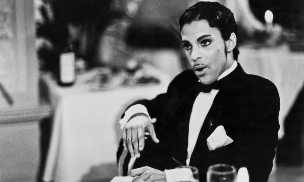 Party like it's $1.99: the late Prince in Under the Cherry Moon (1986).