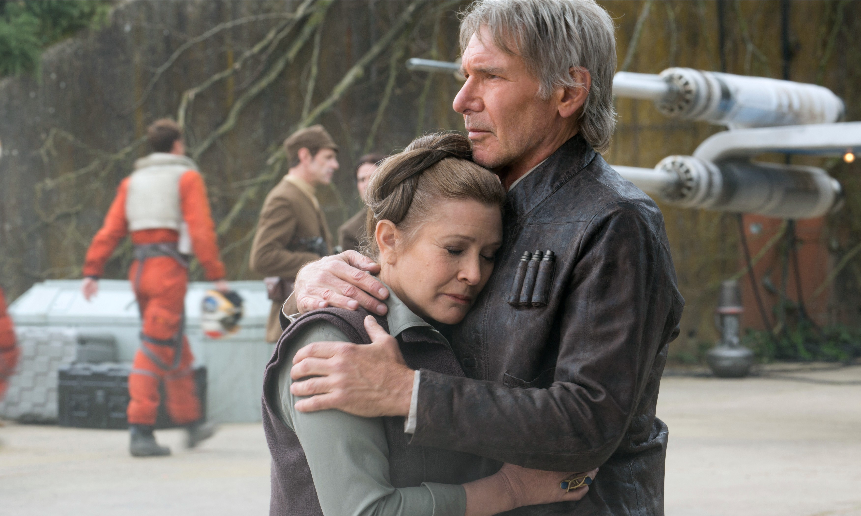 Image result for han and leia