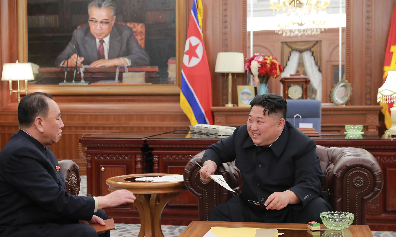 Kim Jong-un expresses 'great satisfaction' at Trump letter ahead of talks