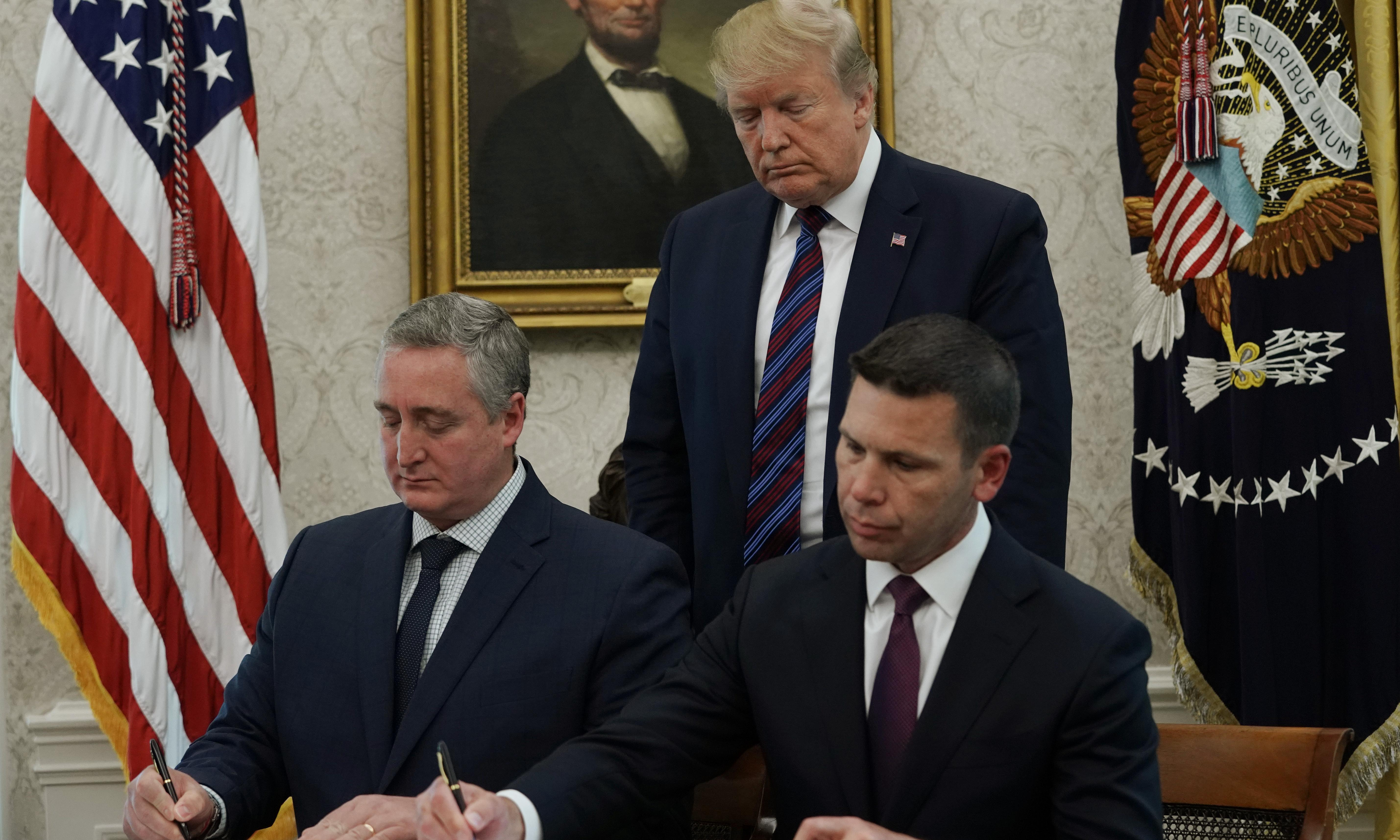 Trump says agreement reached with Guatemala to restrict asylum seekers