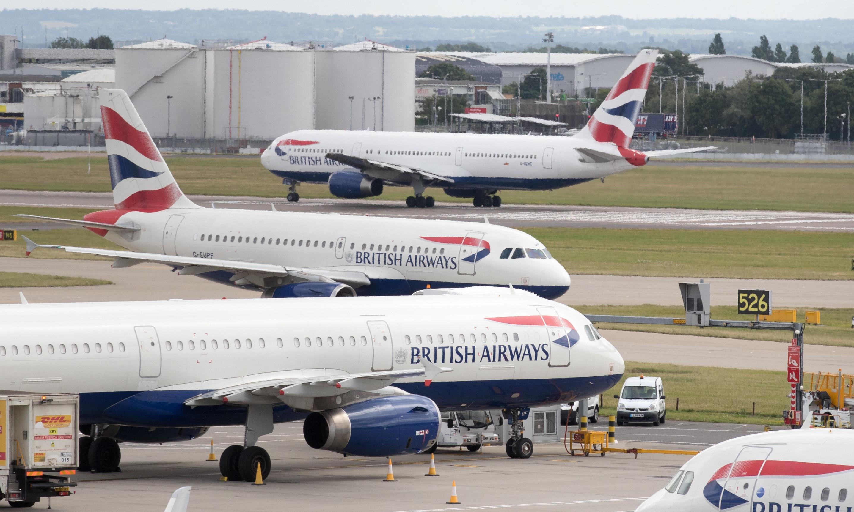 BA chief accuses Heathrow of being on third runway 'gravy train'