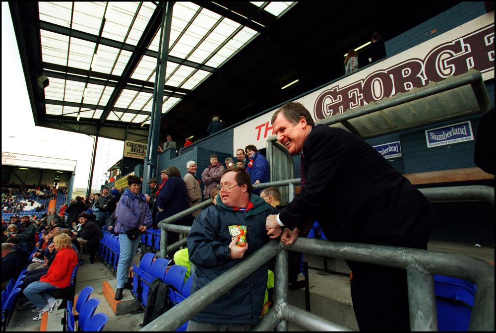 Joe Royle's reign is still fondly remembered at Boundary Park