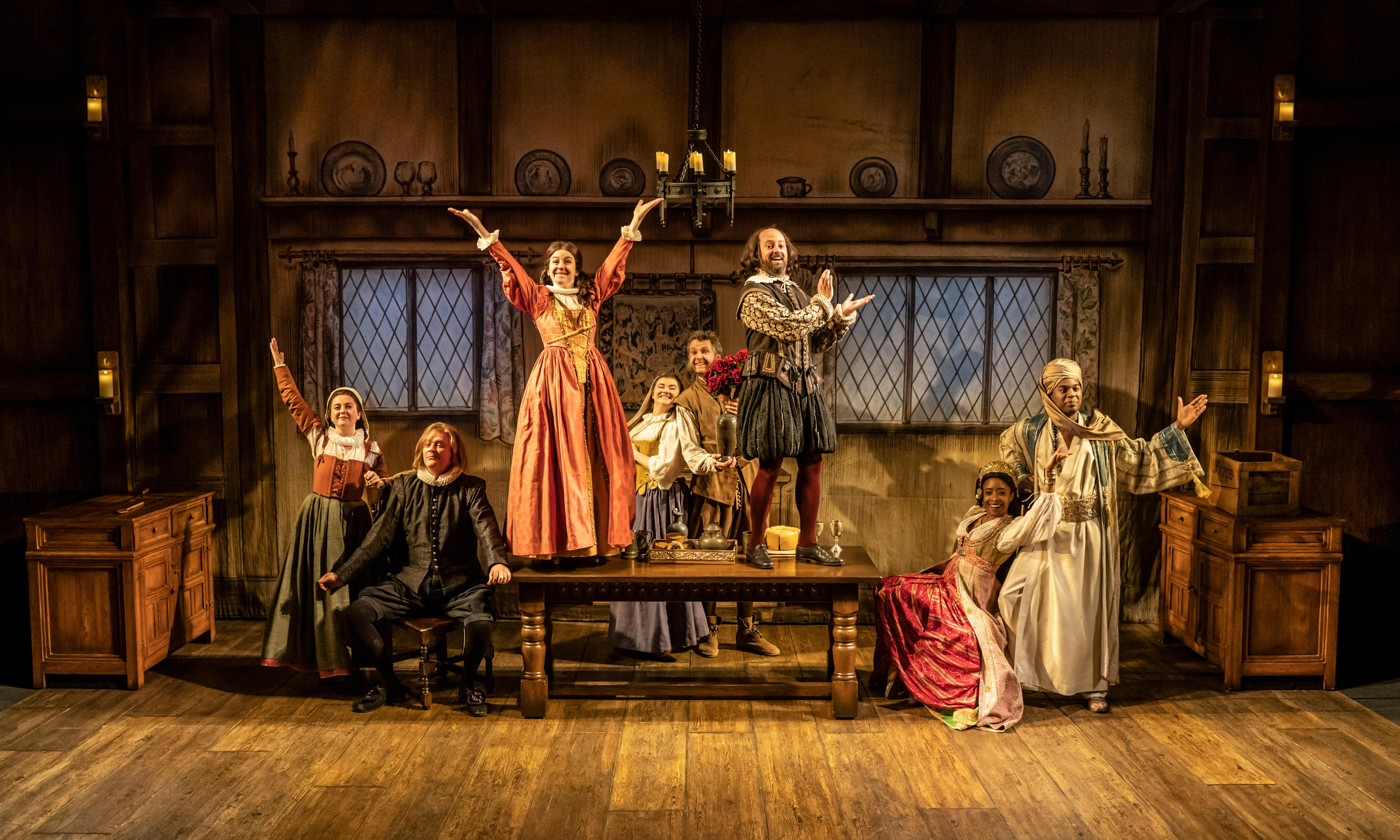The Upstart Crow review – a sitcom ripe for a theatrical remake
